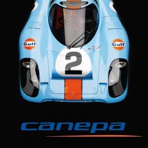 Canepa Porsche 917 Logo