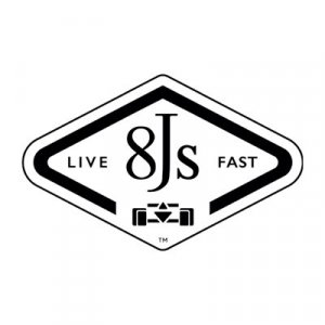 8JS logo