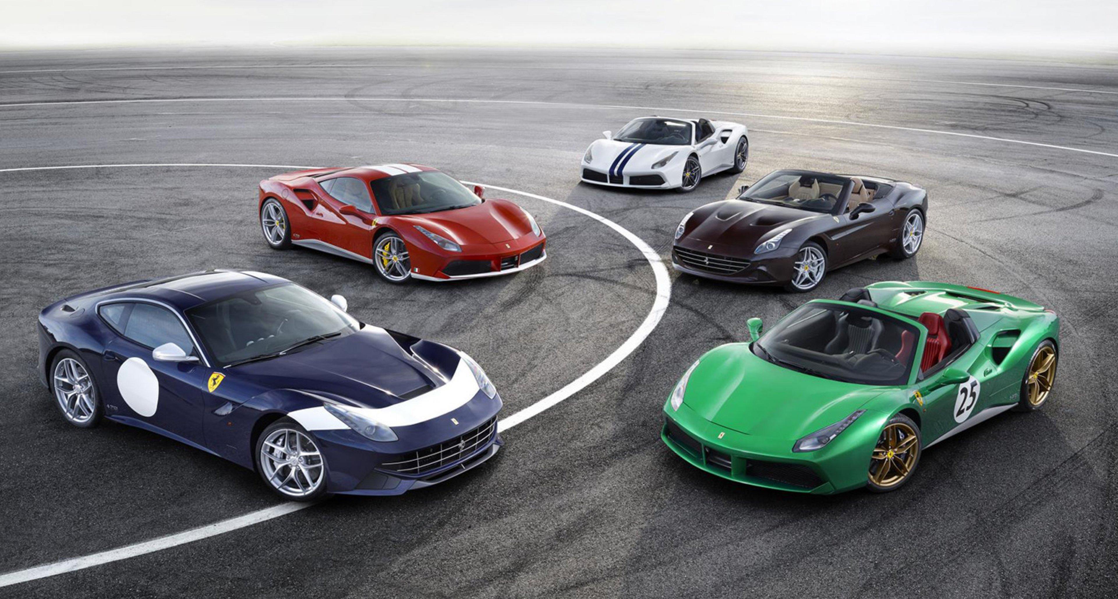 Meet All 70 Of Ferrari S Limited Edition Anniversary Liveries Classic Driver Magazine