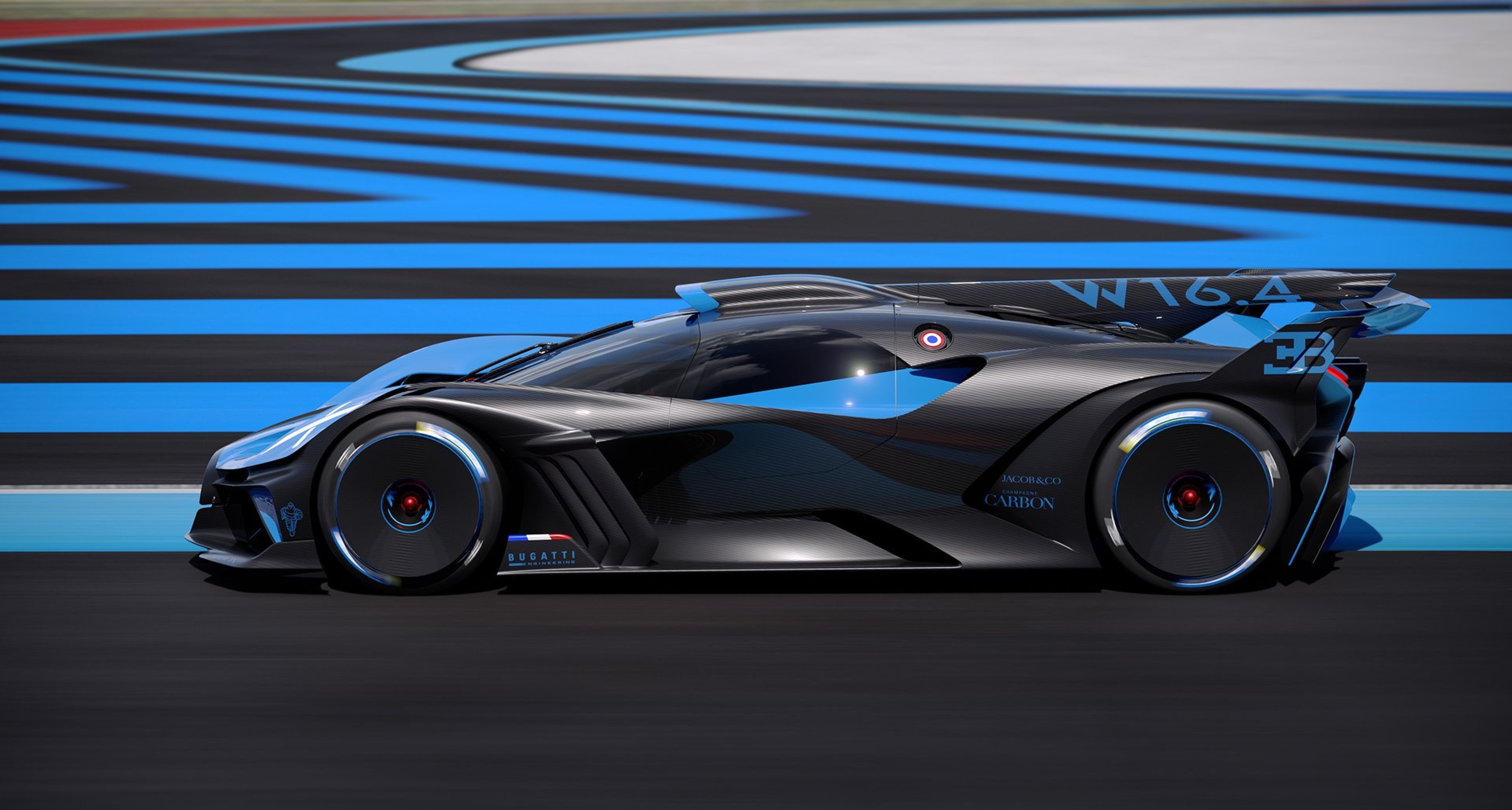 The New Bugatti Bolide Is A Two Fingered Salute To The Electric Car Classic Driver Magazine