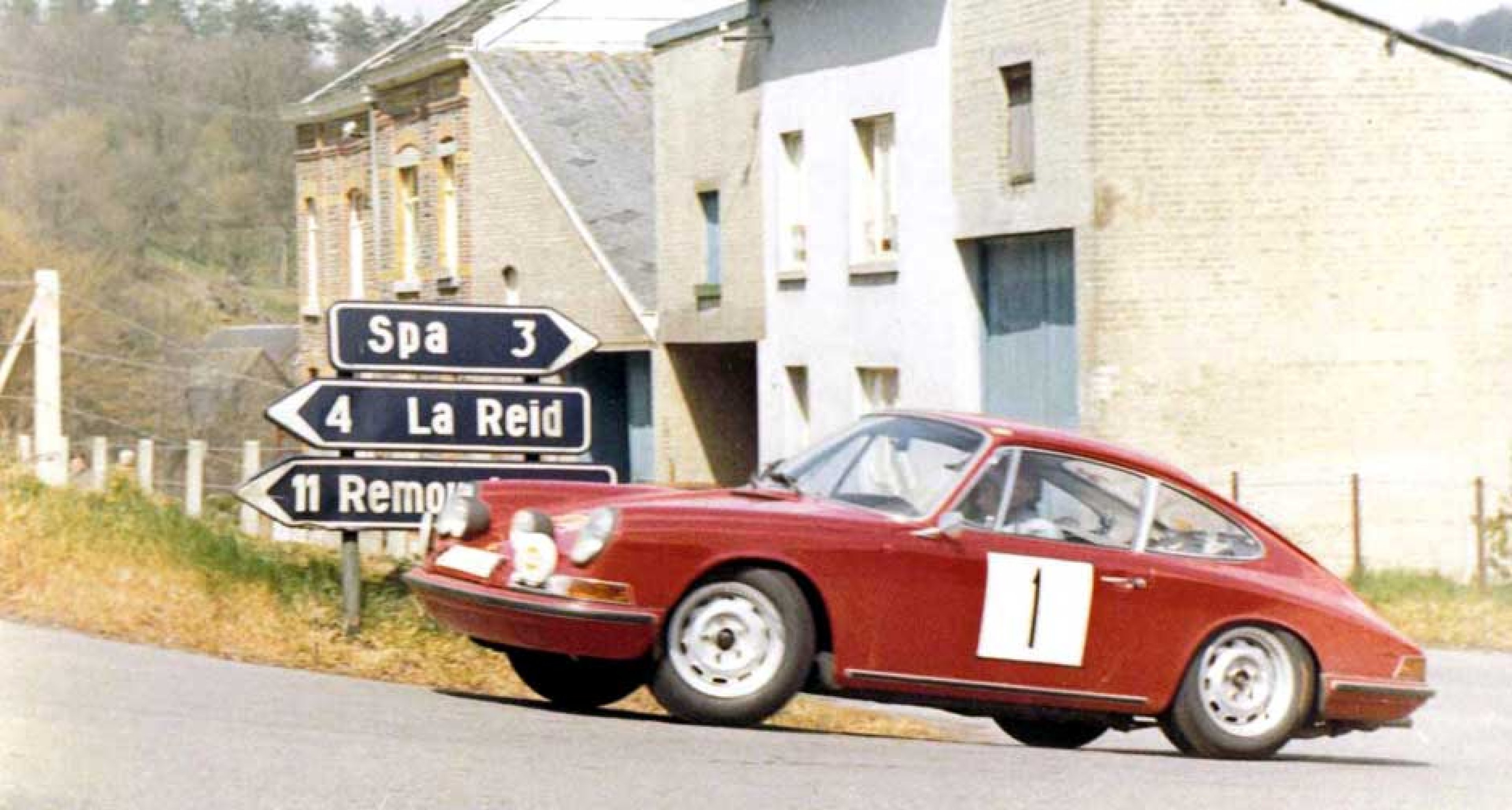 """Tulip Rally 1967. """"By then I was designing my own cars with the help of my engineer friend Hermann Briem, who was building them. This one had maximum speeds in the five gears of 20, 40, 60, 80 and 100mph. You can imagine the acceleration..."""""""