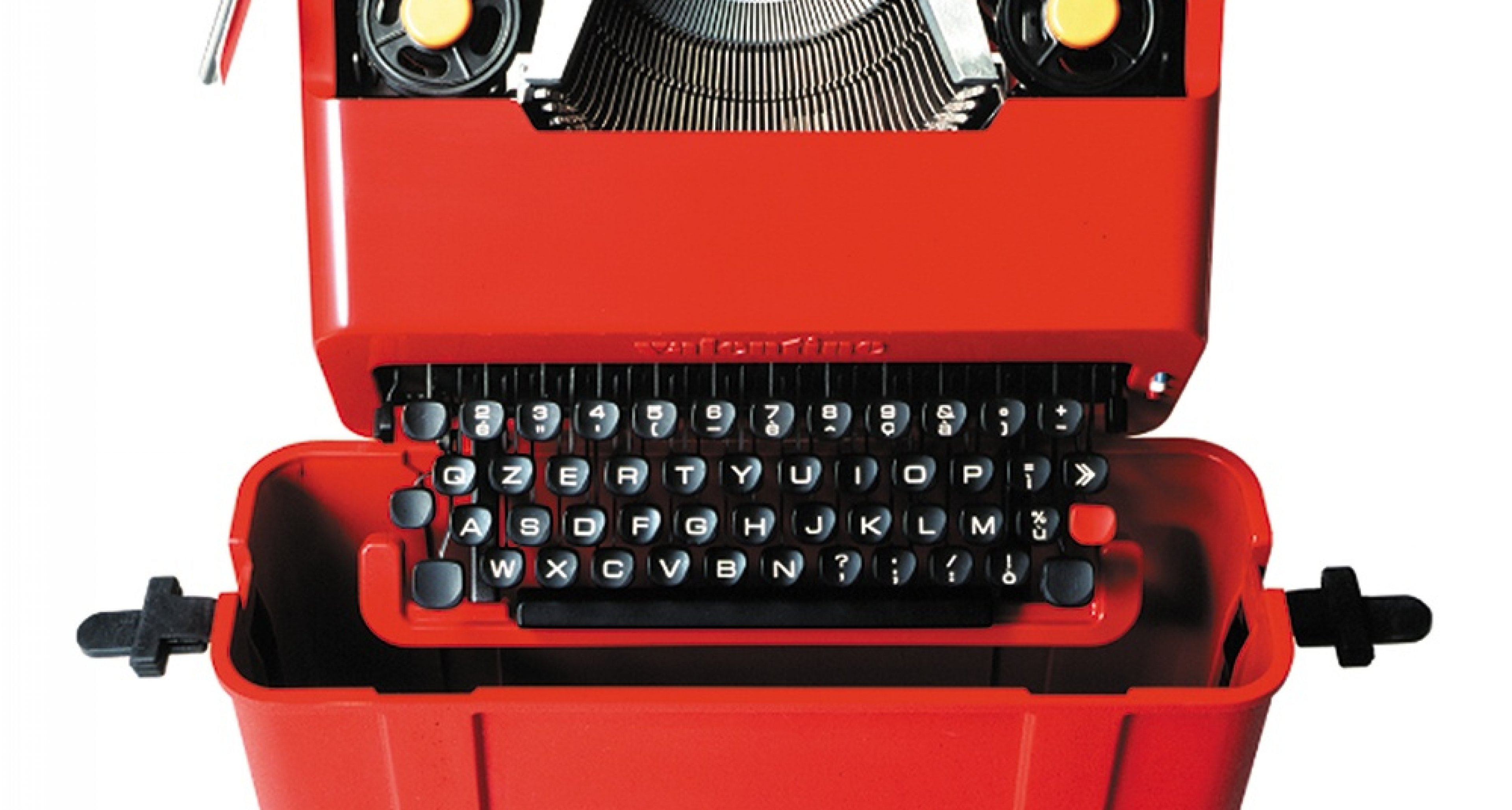 Olivetti Valentine, Ettore Sottsass and Perry A. King, 1969. Courtesy: Studio Ettore Sottsass