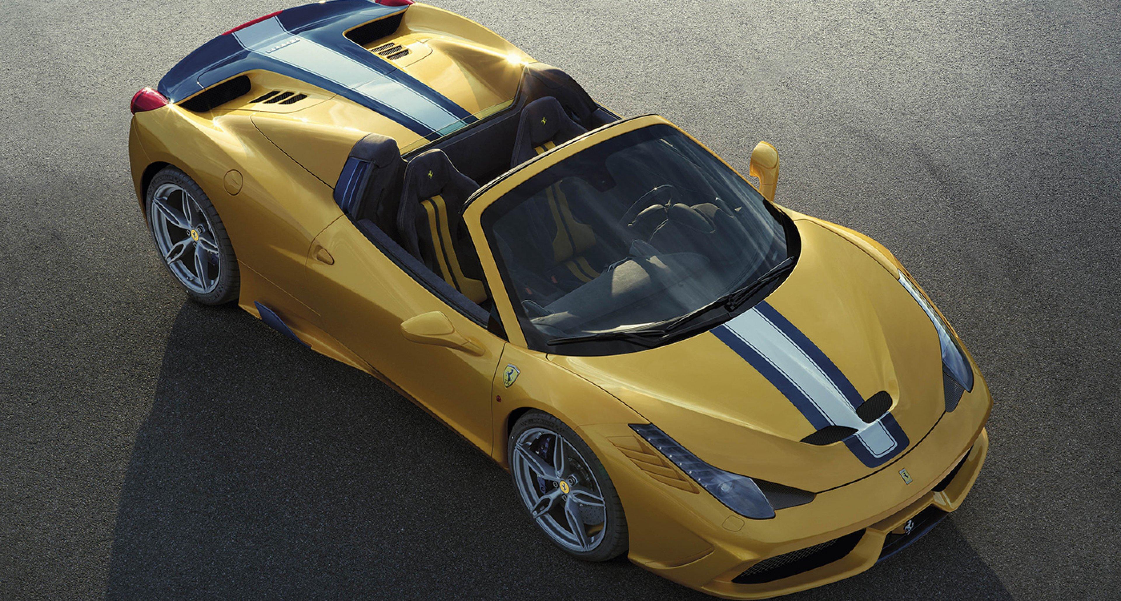 Der Neue Ferrari 458 Speciale A Ist Der Stärkste Spider Aller Zeiten Classic Driver Magazine