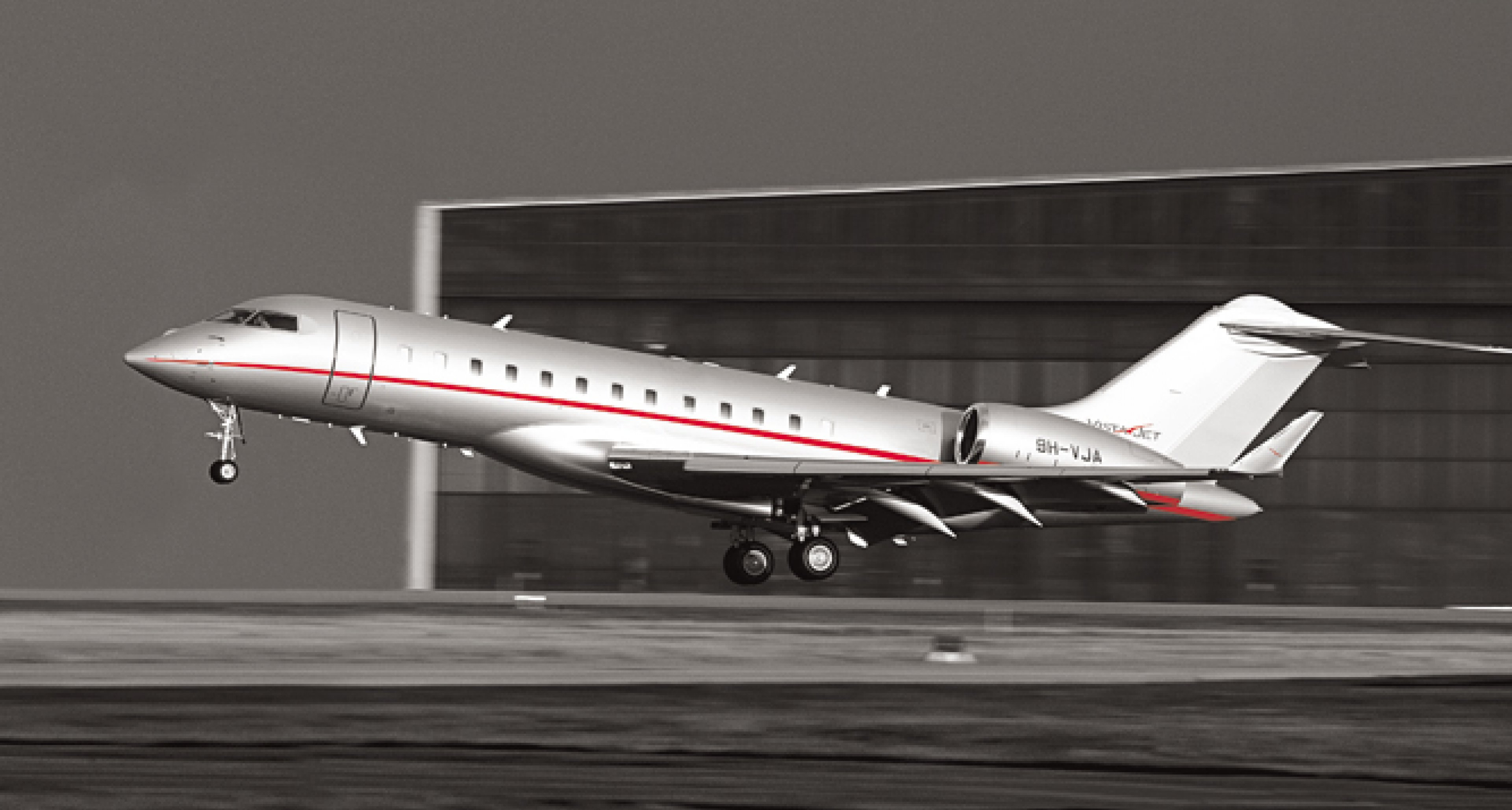 Bombardier Global 6000 jet © courtesy VistaJet
