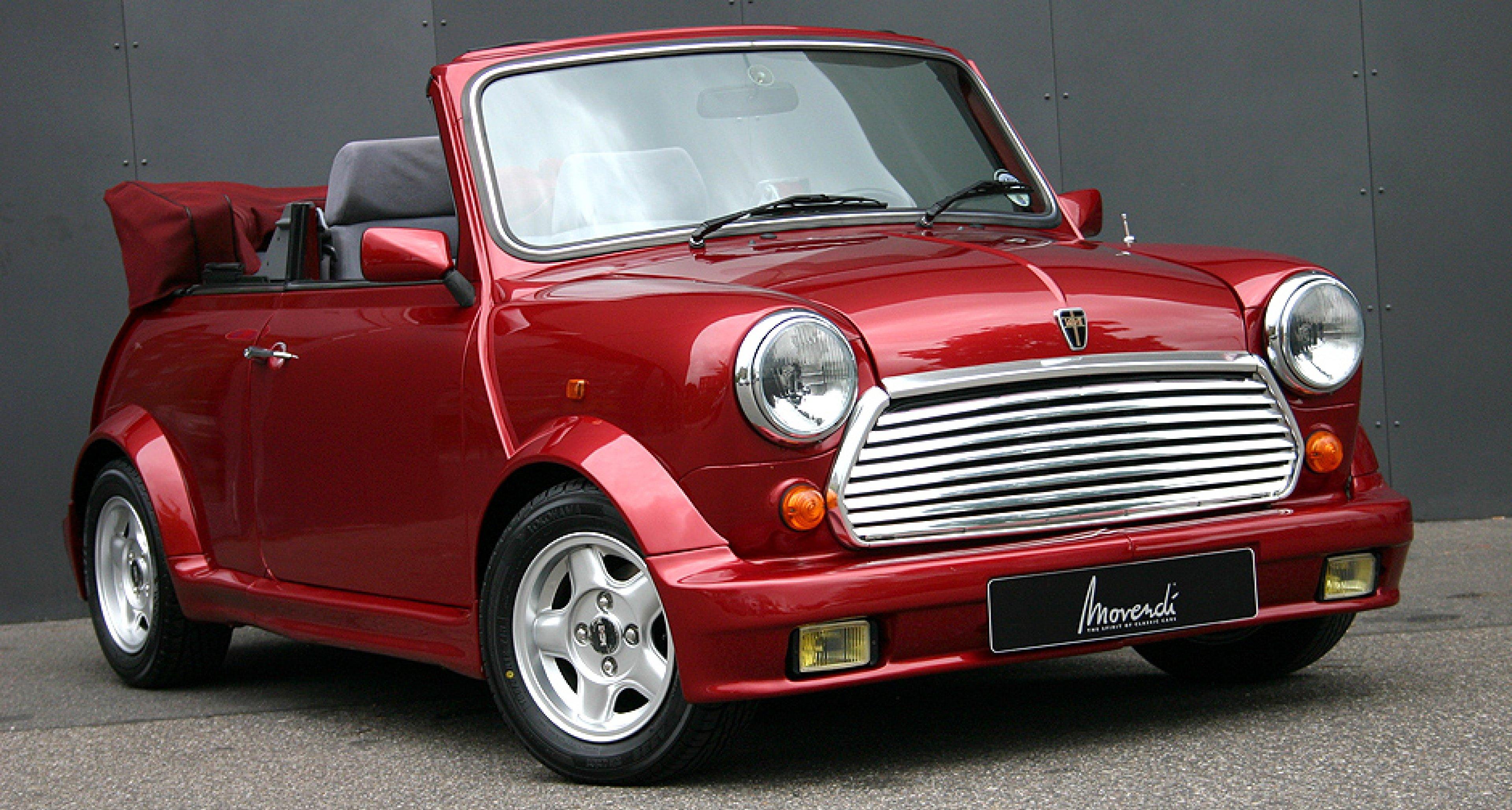 Mini Classic Cabrio Little Red Rovers Hood Classic Driver Magazine