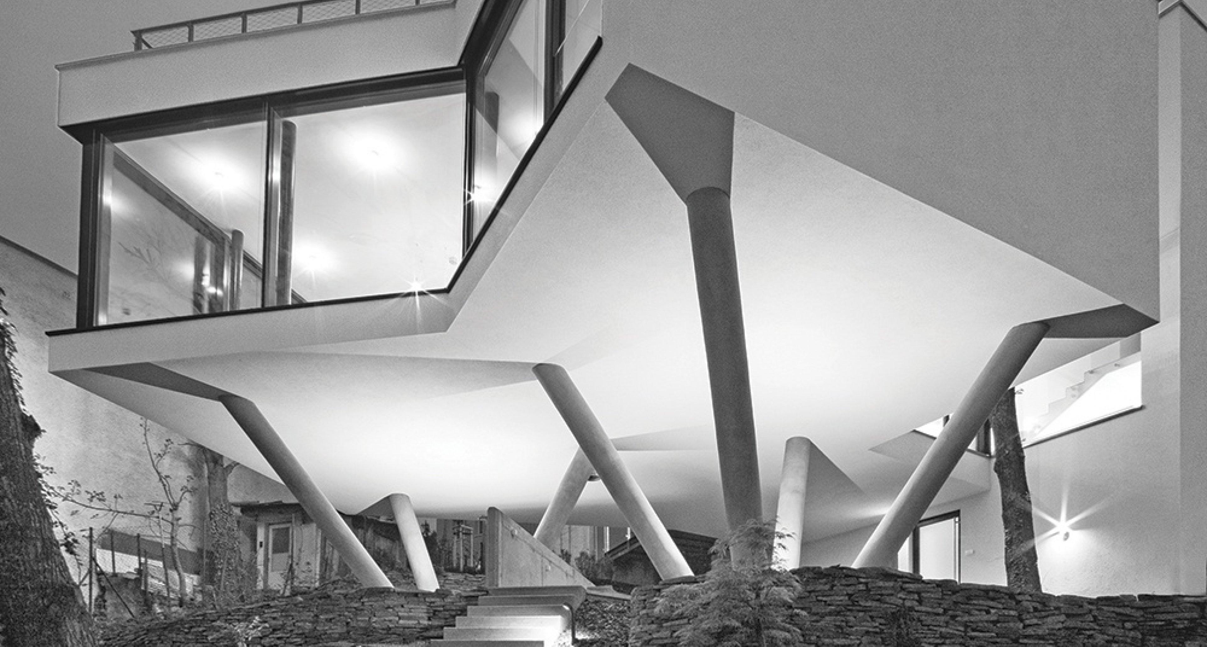 Šebo Lichý Architects: House Among the Trees, Bratislava, Slovakia, 2013. Picture credit: Photo © Tomáš Manina