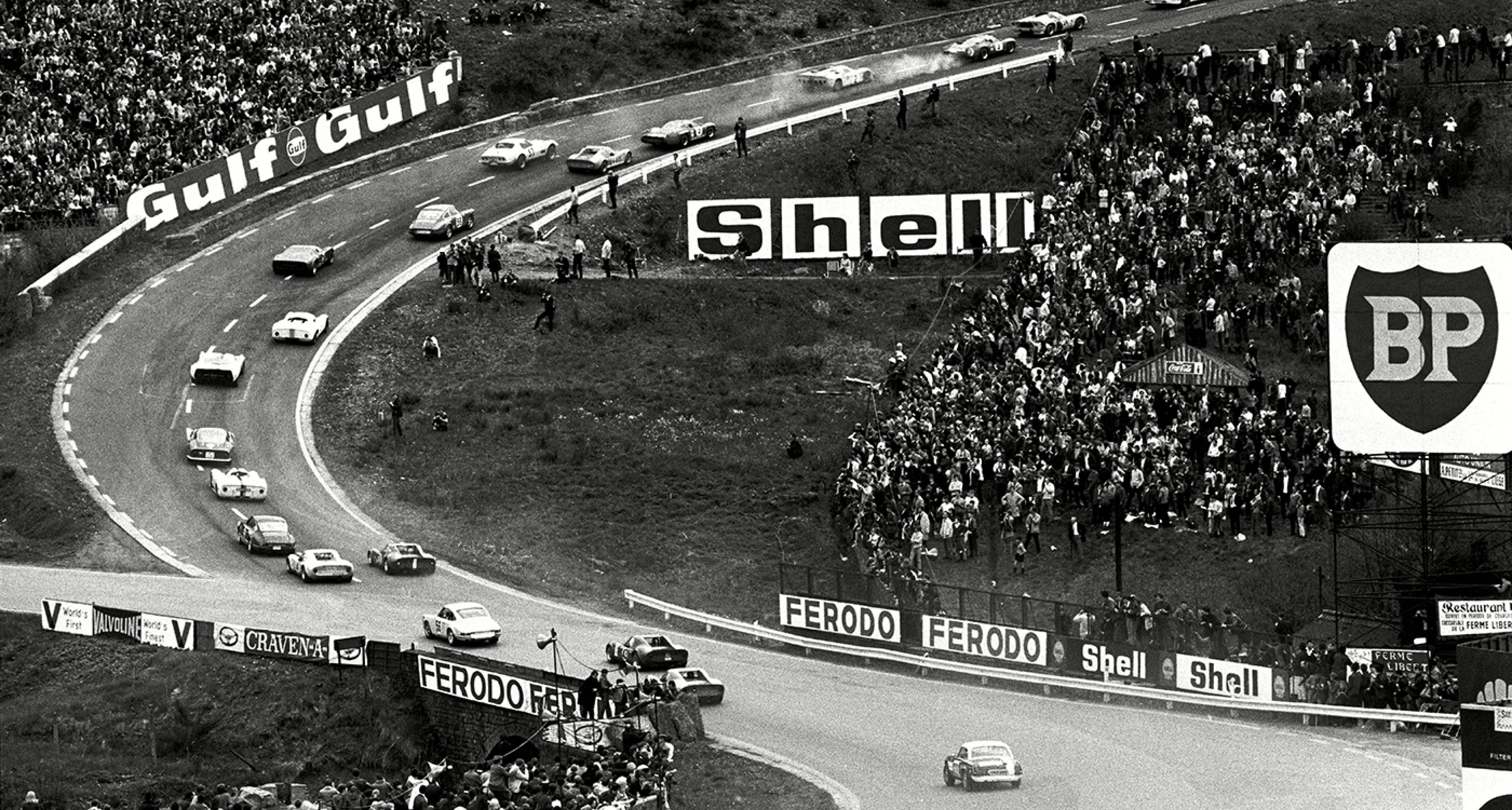 Eau Rouge / Raidillon in 1969