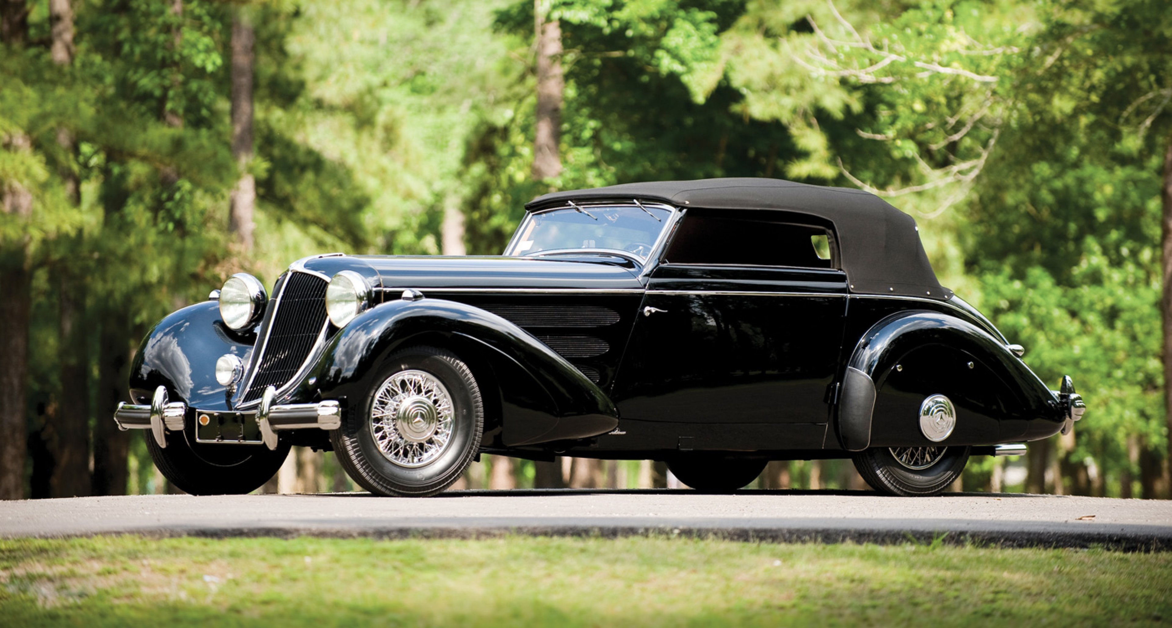 1936 Mercedes-Benz 540 K Special Cabriolet by Sindelfingen to be auctioned at RM's Monterey auction 2014