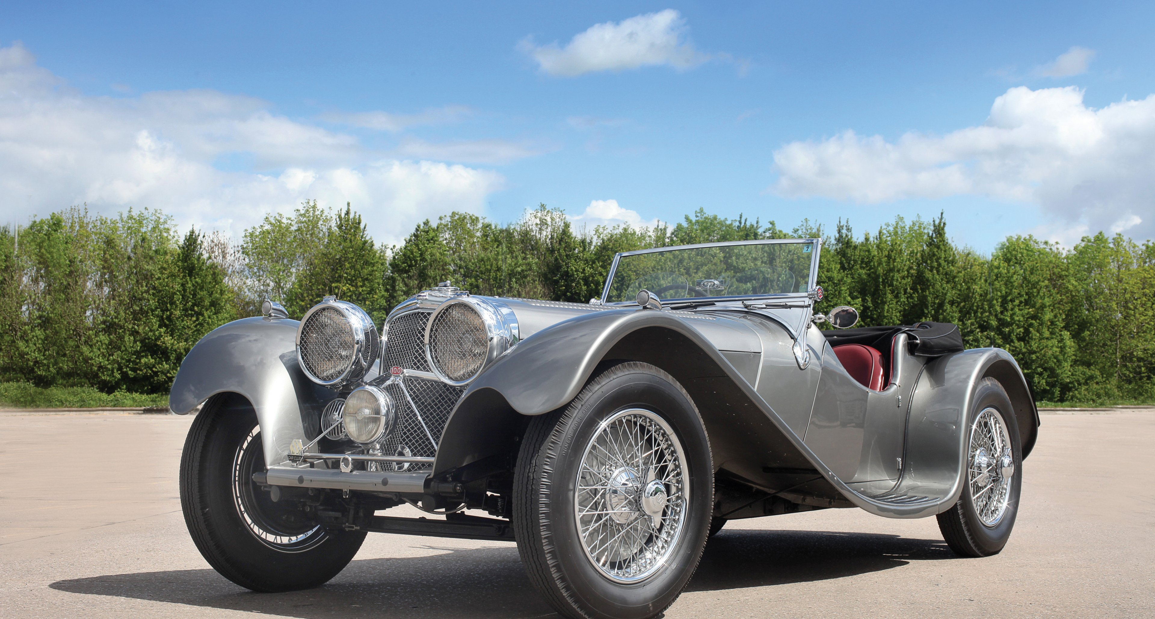1937 SS 100 Jaguar 2½-Litre Roadster to be auctioned at RM's Monterey auction 2014