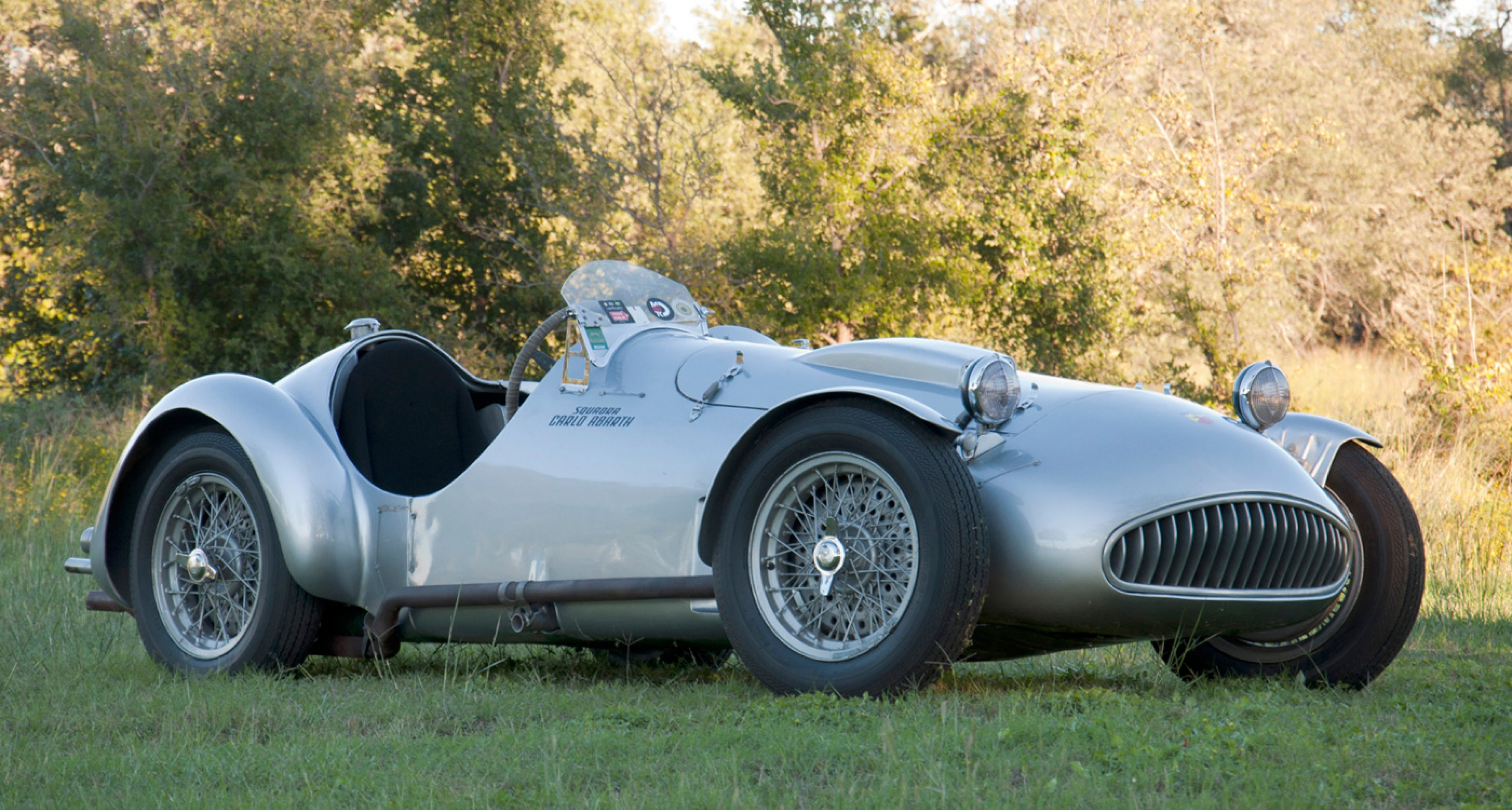 ex-Fangio 1950 Cisitalia Abarth 204 A Spider to be sold at Coys' 'Legende et Passion' auction in Monaco, 9 May 2014