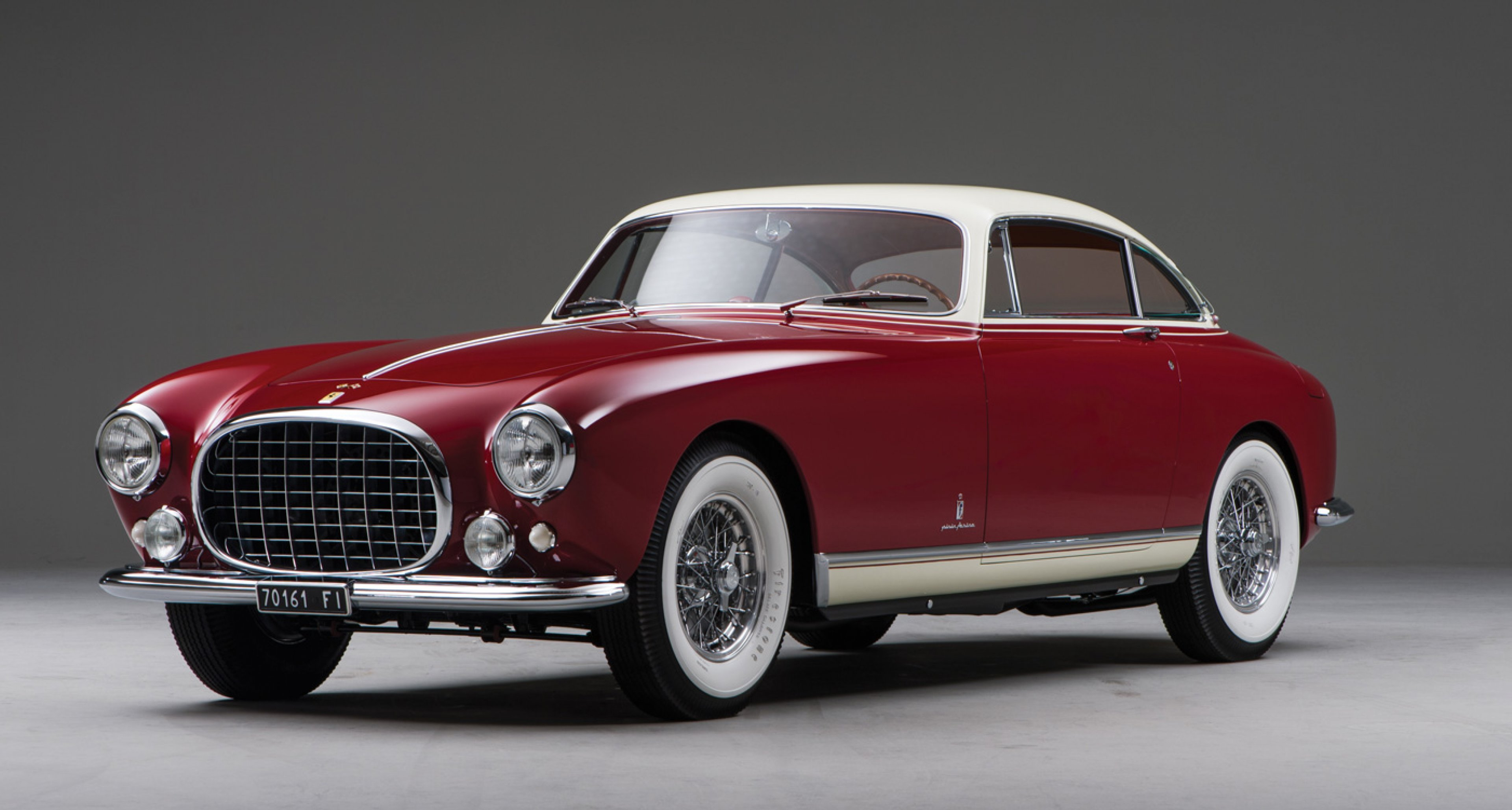 1953 Ferrari 250 Europa by Pinin Farina to be auctioned at RM's Monterey auction 2014 (Estimate: $1,900,000–$2,400,000)