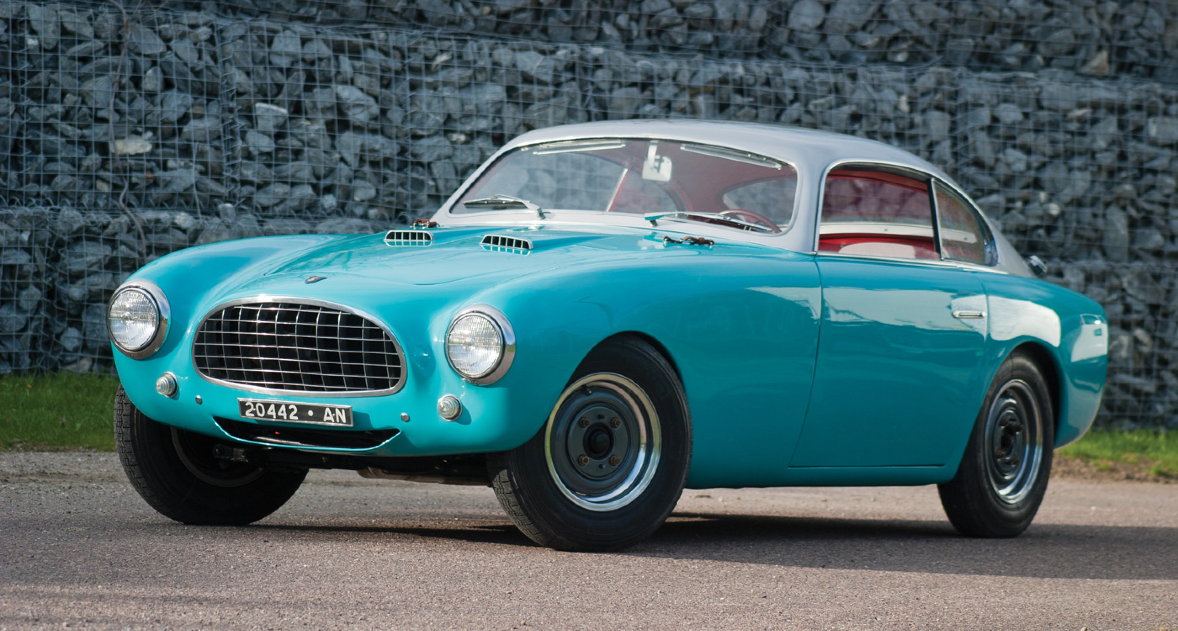1953 Fiat-Siata 1500 Coupe Speciale by Gilco to be auctioned at RM's Monterey auction 2014