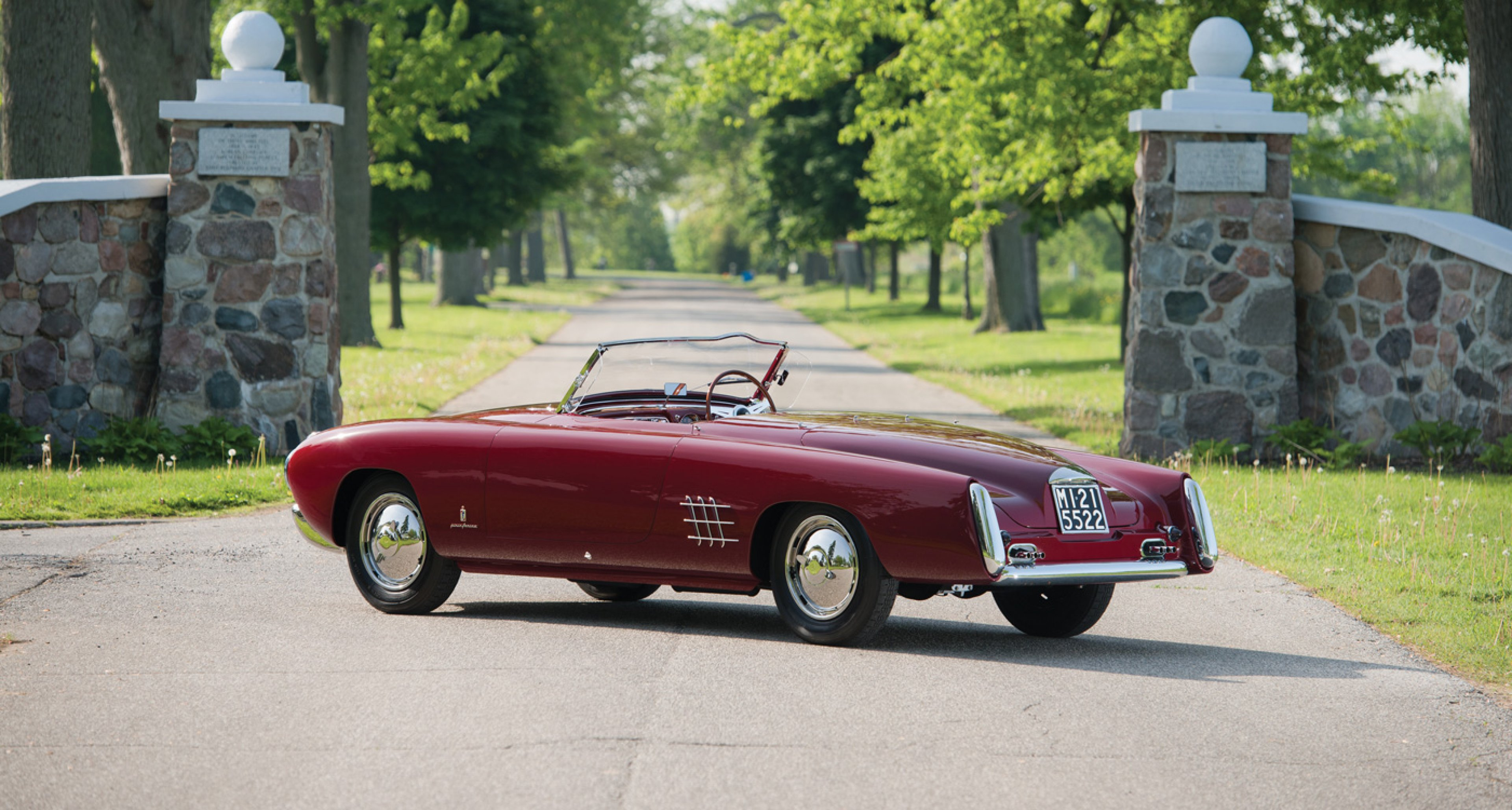 1953 Lancia Aurelia PF200 C Spider by Pinin Farina to be auctioned at RM's Monterey auction 2014