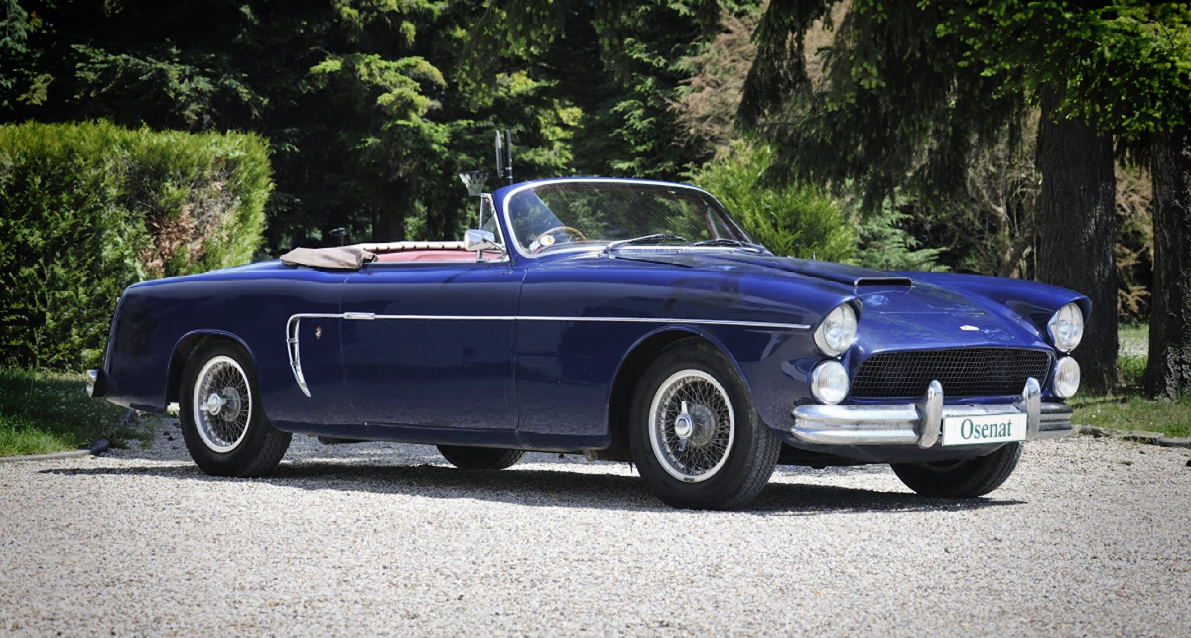 1954 Jaguar Mark VII Ghia-Aigle - Osenat at the Grand Parquet auction 2014