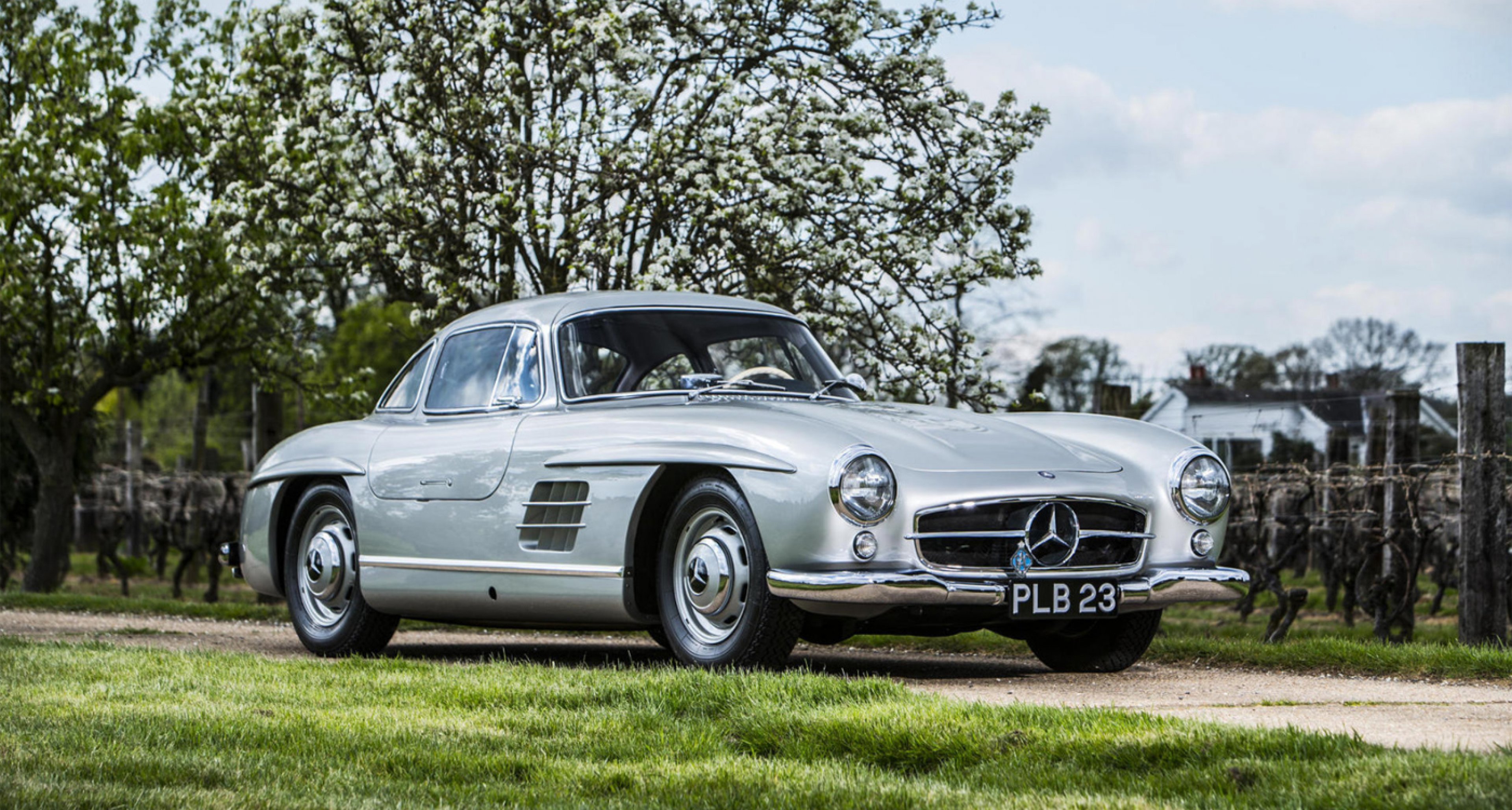 Lot 26: 1954 Mercedes-Benz 300SL Coupé 'Stirling Moss/Denis Jenkinson 1955 Mille Miglia Reconnaissance 'Gullwing' / 'The Ex-Paris Salon, London Motor Show, 'The Autocar' road test'