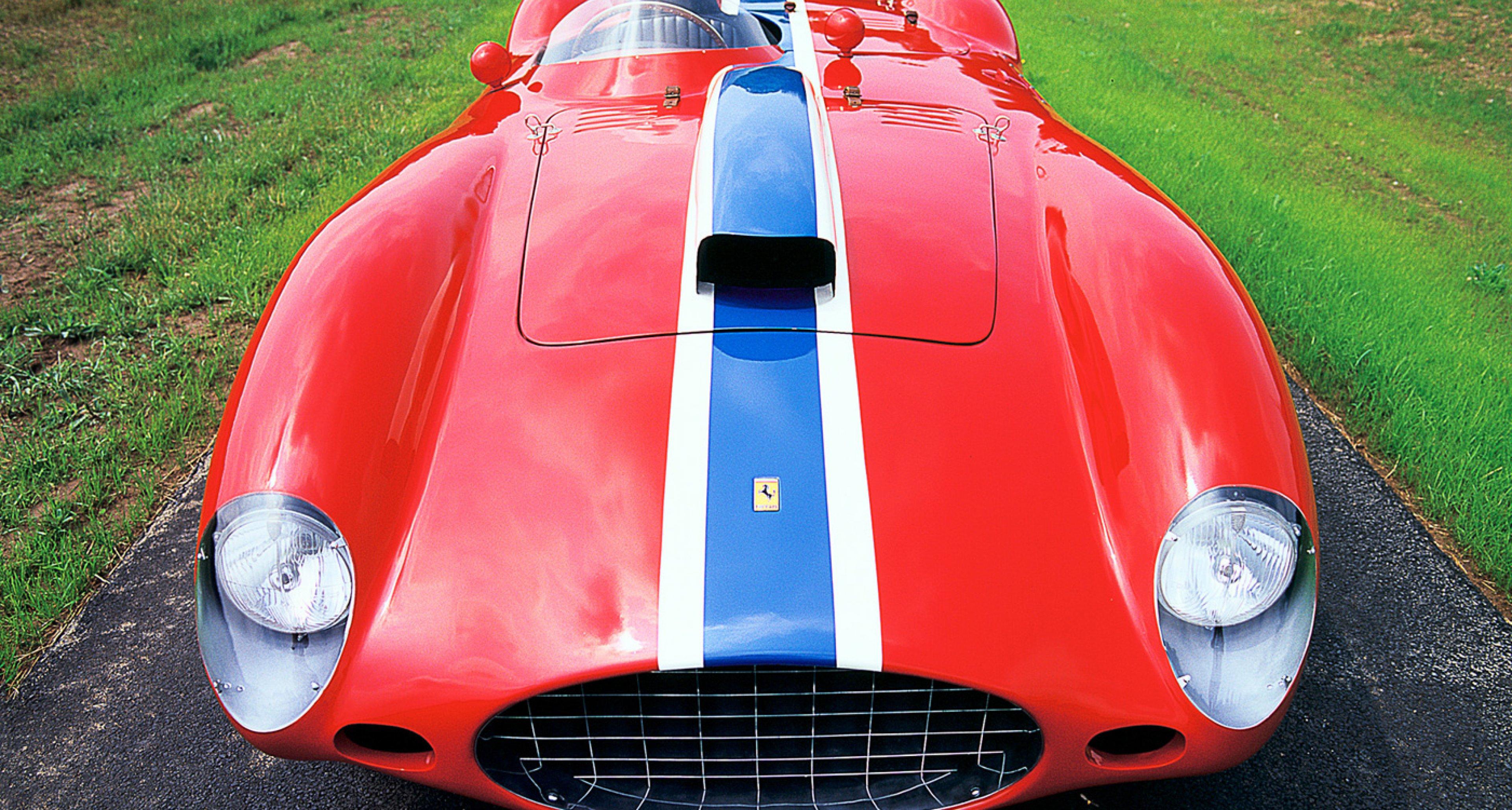 1955 Ferrari 410 Sport - Rick Cole Auctions 2014, Monterey
