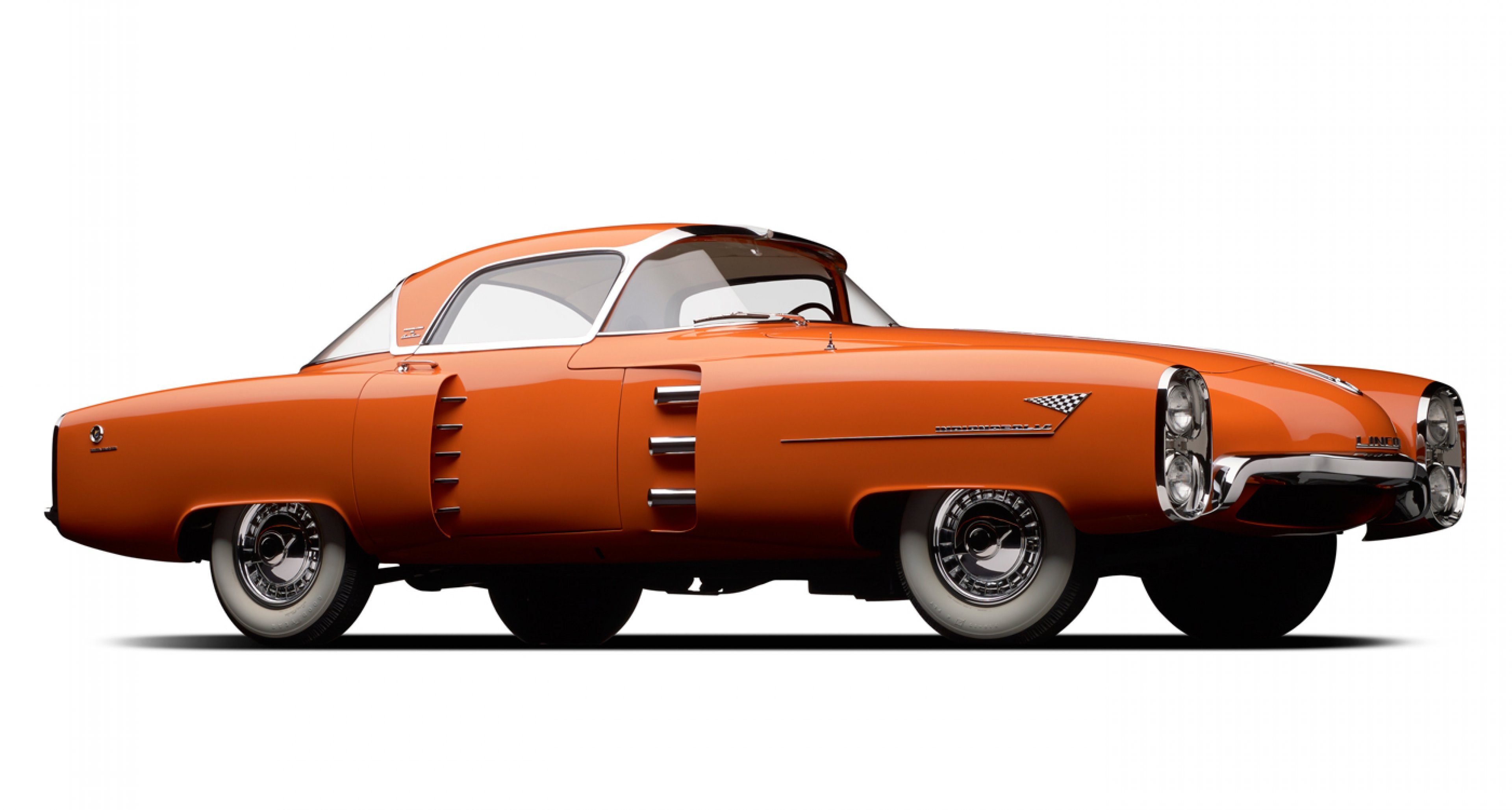 1955 Lincoln Indianapolis Boano. Collection of James E. Petersen, Jr. Image © 2015 Michael Furman