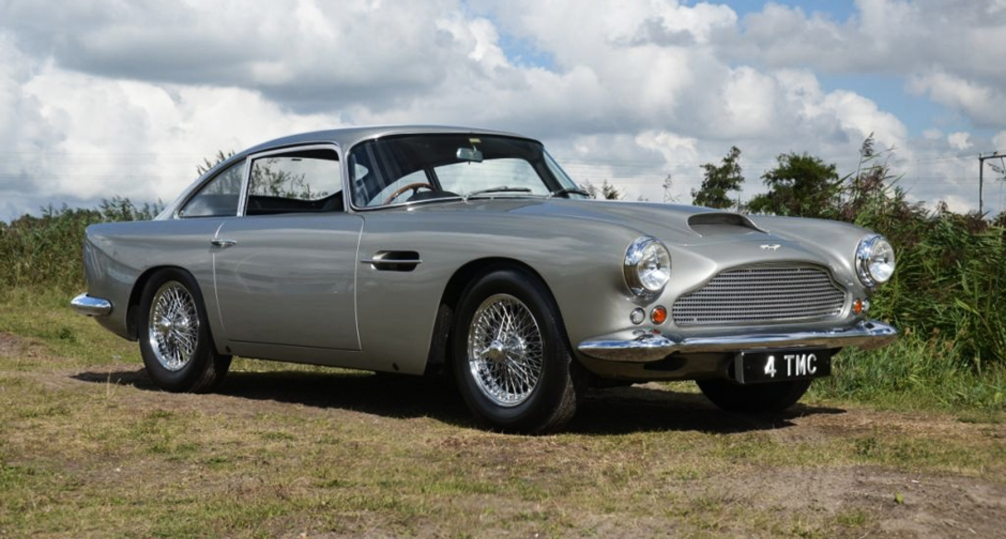 Deep Rooted Bond The First Ever Aston Martin Db4 For Sale