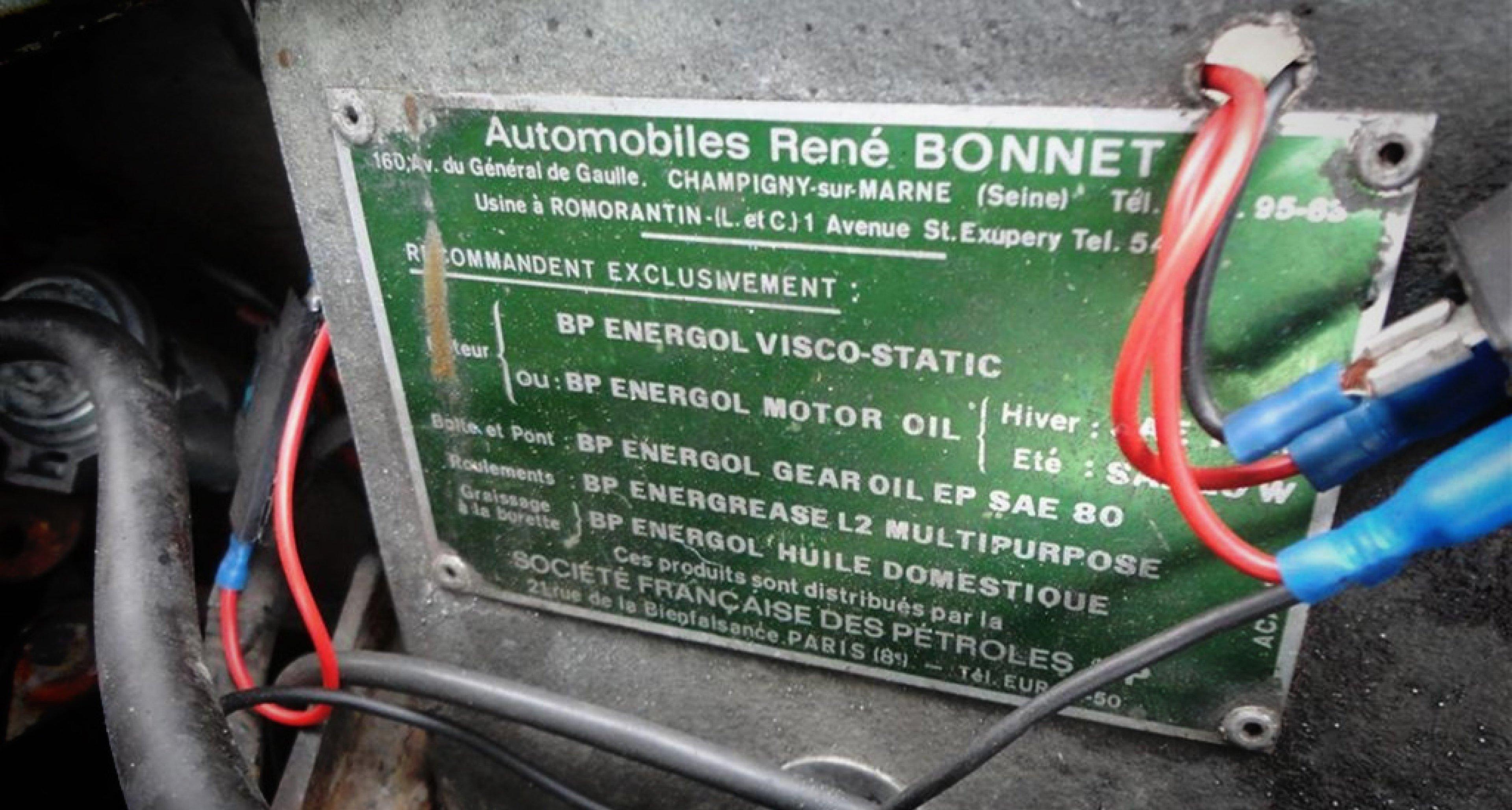 1965 René Bonnet Missile Restoration Project