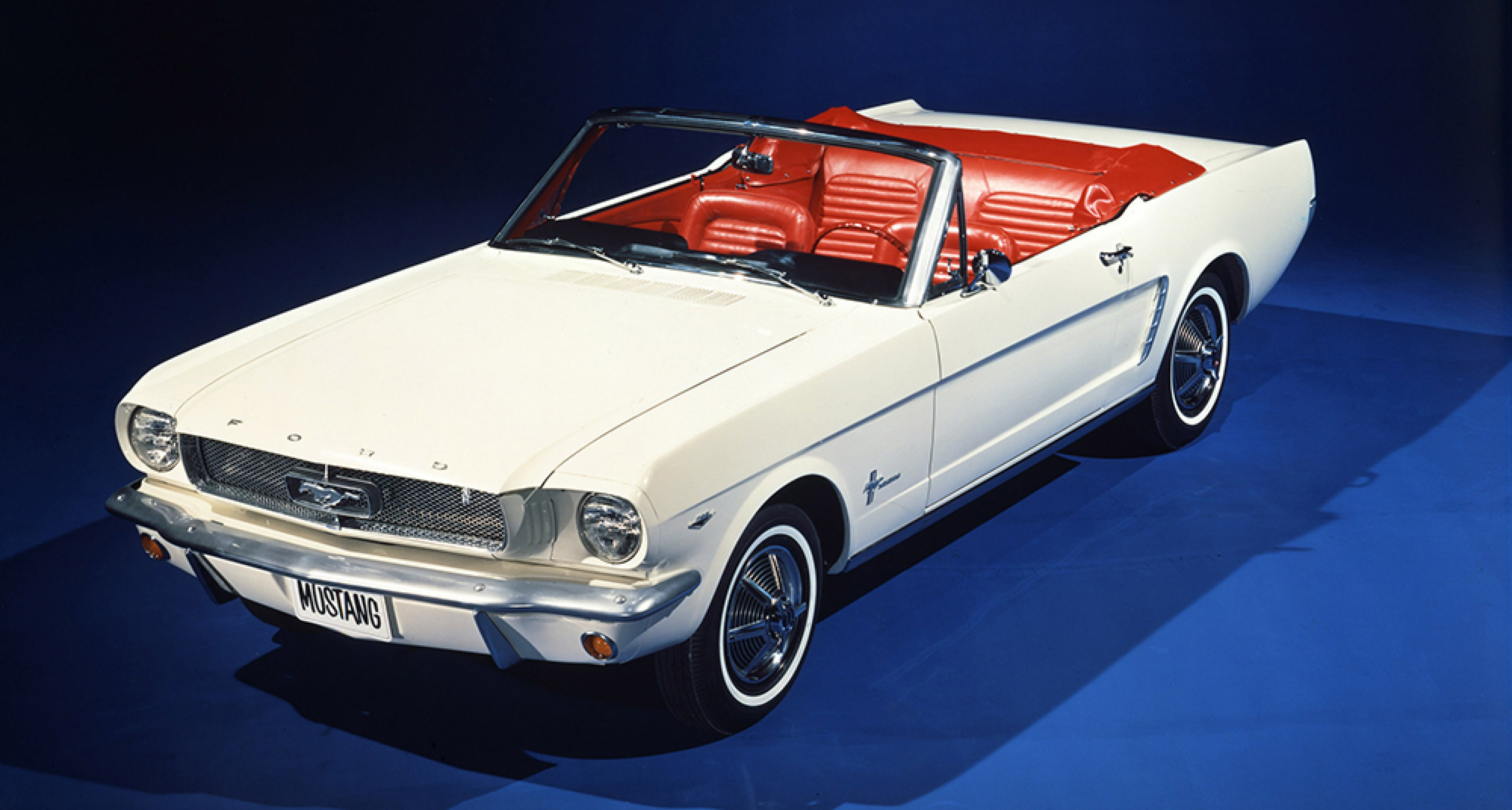 Birth of an icon - the 1964 Ford Mustang Convertible.