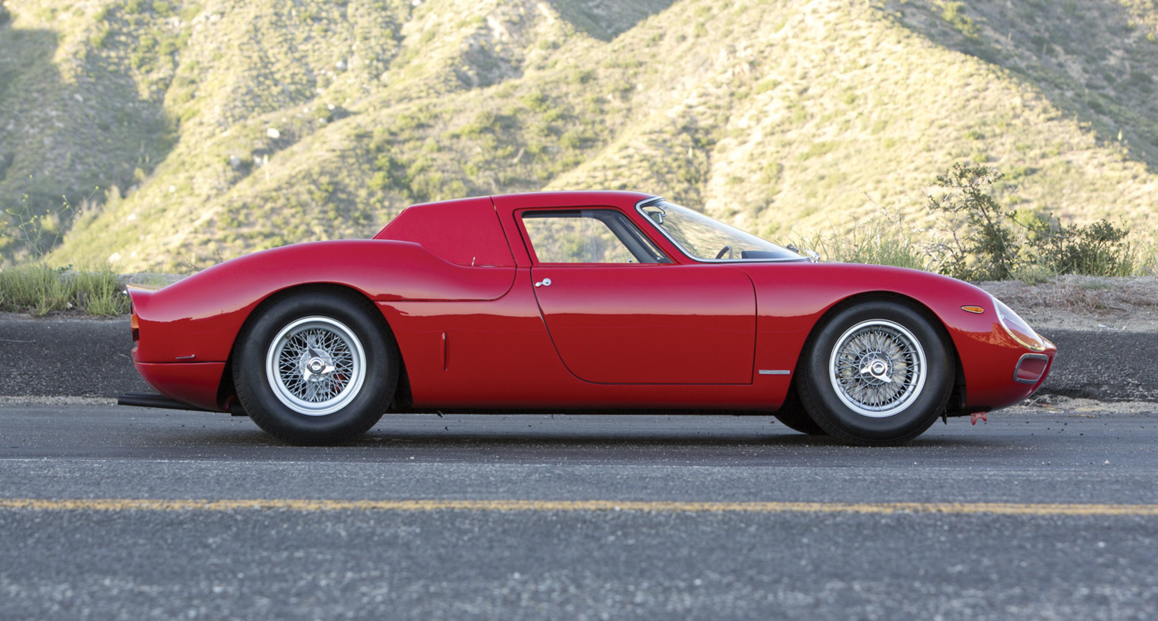 1964 Ferrari 250 LM by Scaglietti to be auctioned at RM's Monterey auction 2014 (price on request)