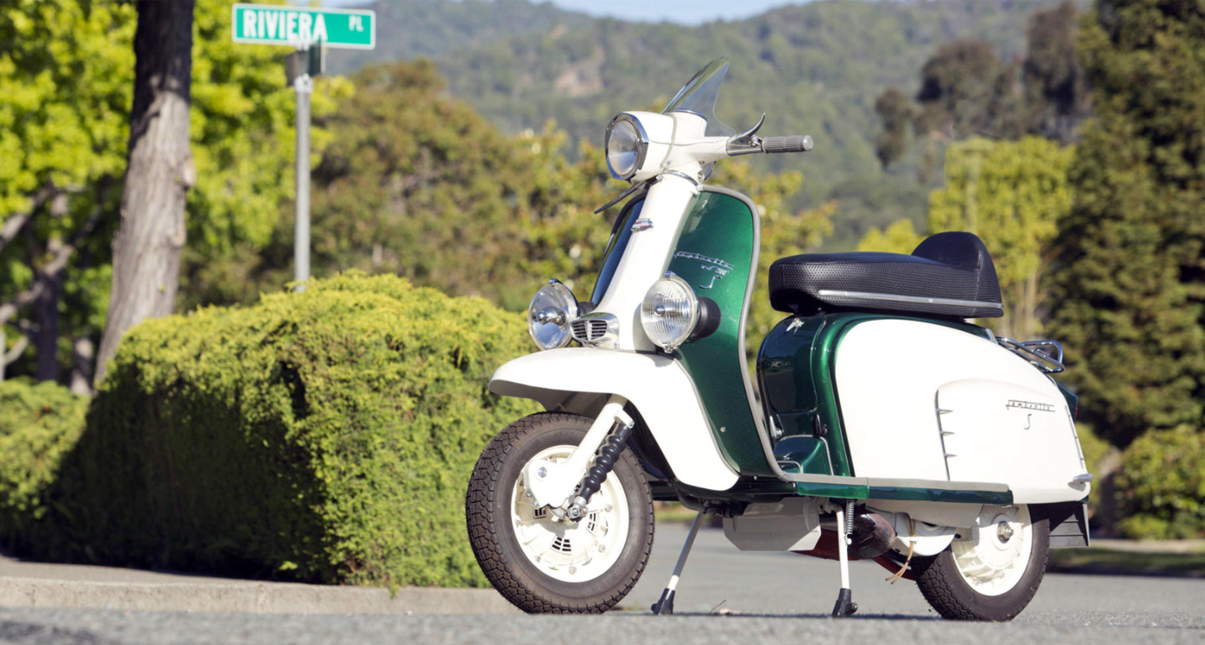 Summer Essentials: 1964 Lambretta GT/TV 200
