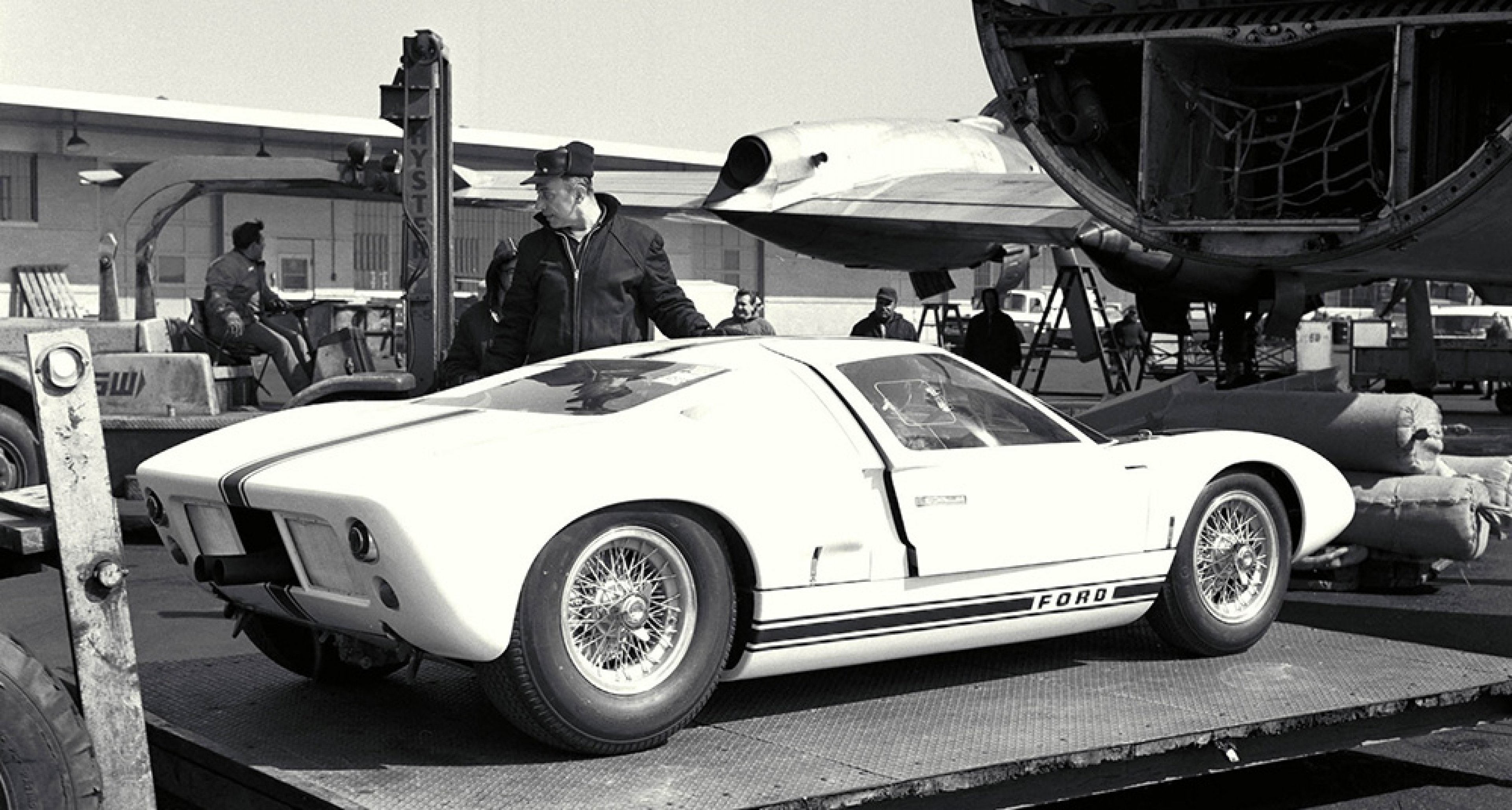The all-new Ford GT concept, first presented at the New York Auto Show 1964.