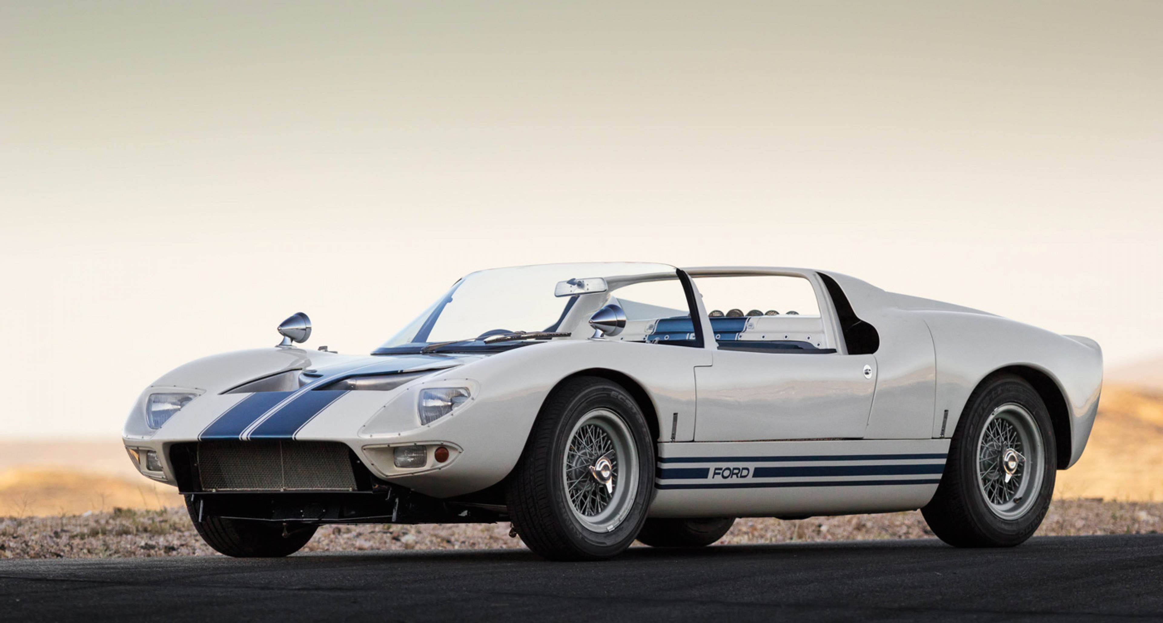 1965 Ford GT40 Roadster Prototype to be auctioned at RM's Monterey auction 2014