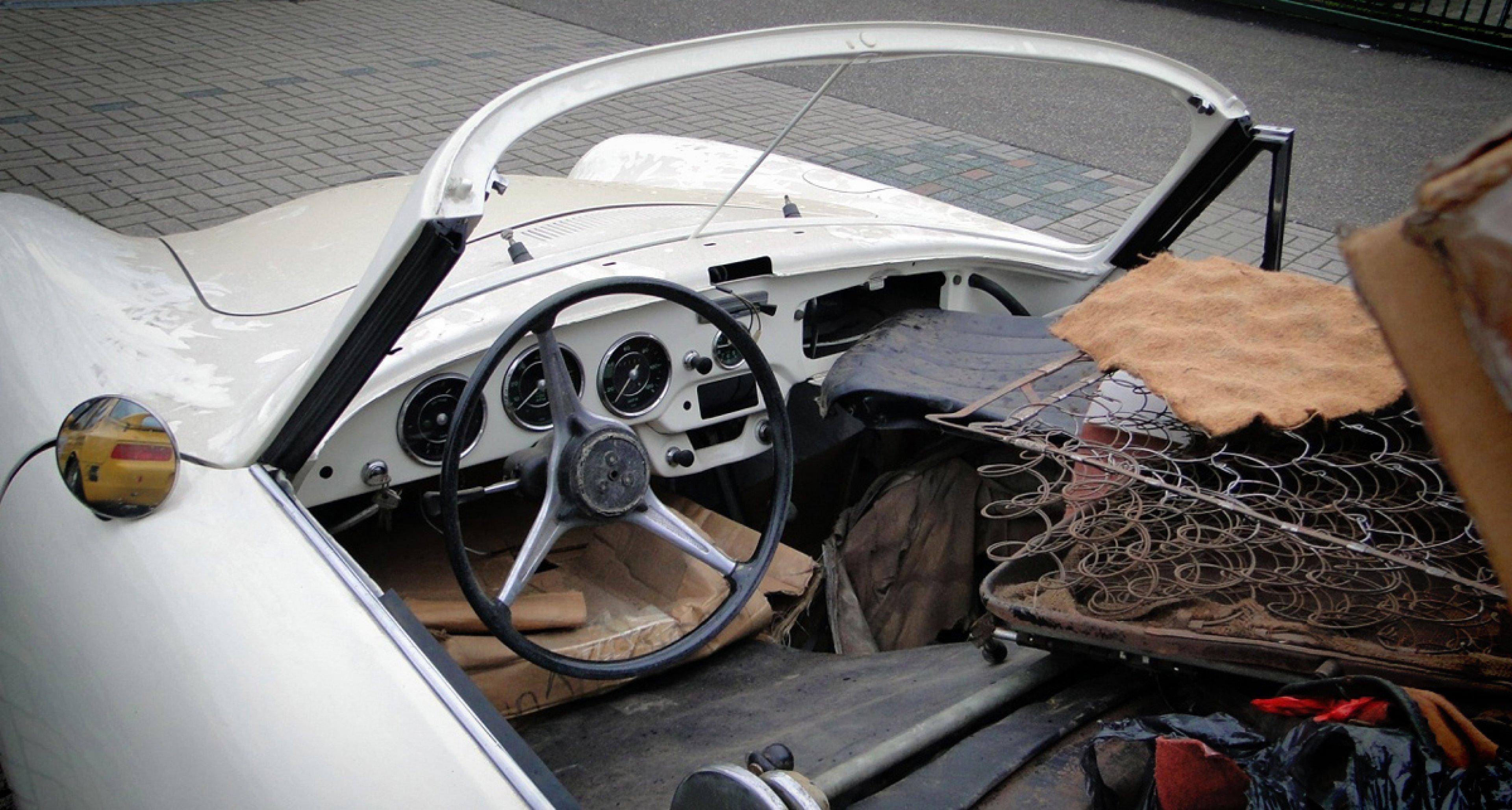 1965 Porsche 356 SC Cabriolet Restoration Project