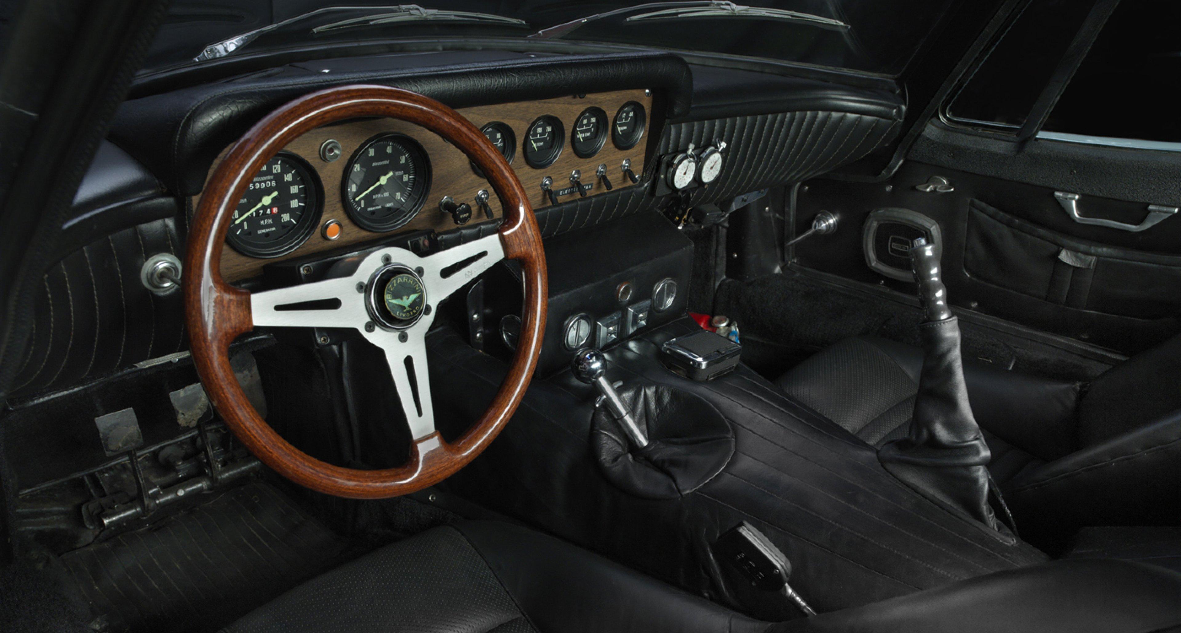 1968 Bizzarrini 5300 Strada Coupe. Collection of Don Meluzio. Image © 2015 Peter Harholdt