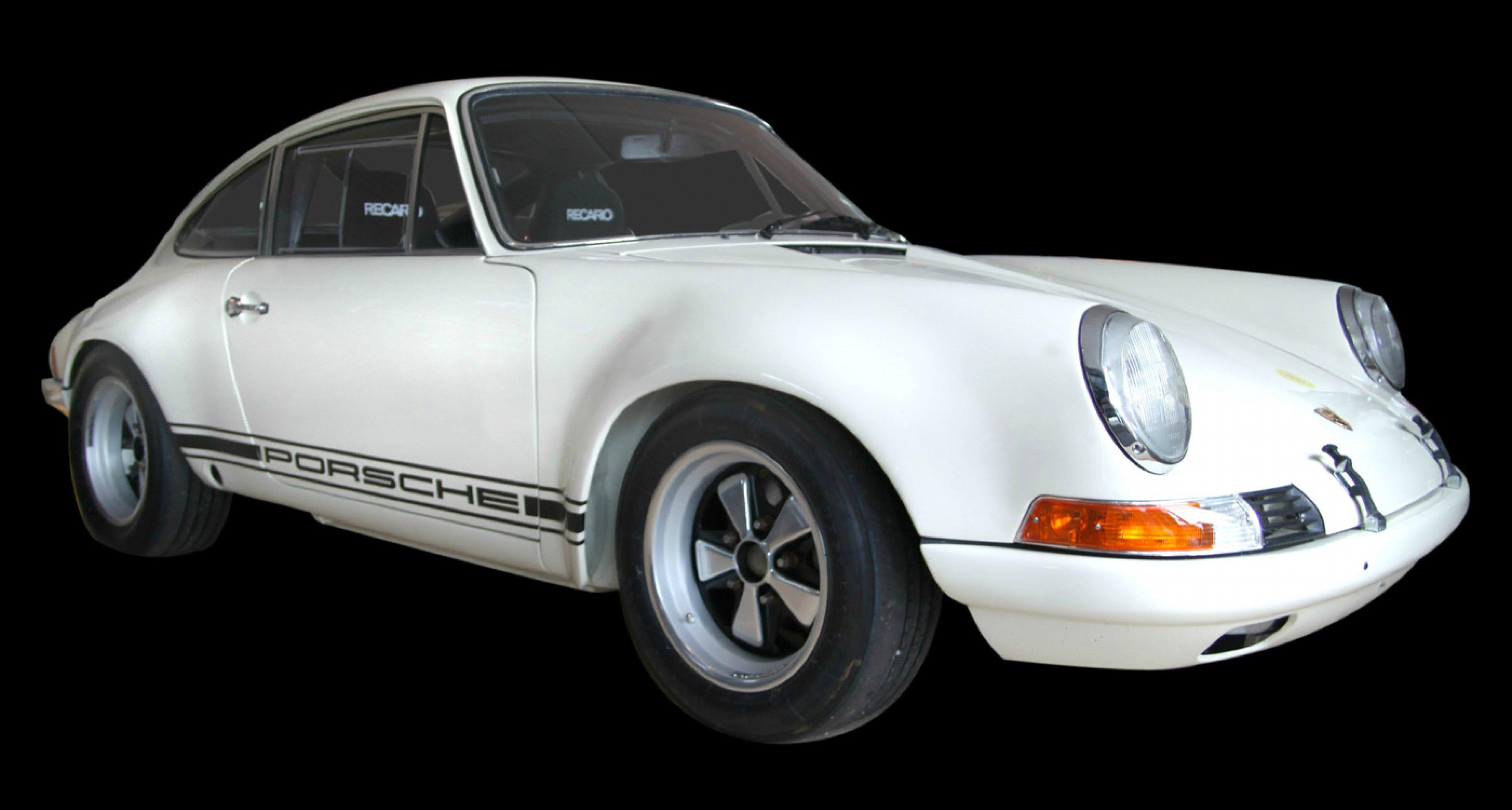 "Coys auction at the Nurburgring 2014 - 1970 Porsche 911 ST ""ex-Walter Röhrl"""