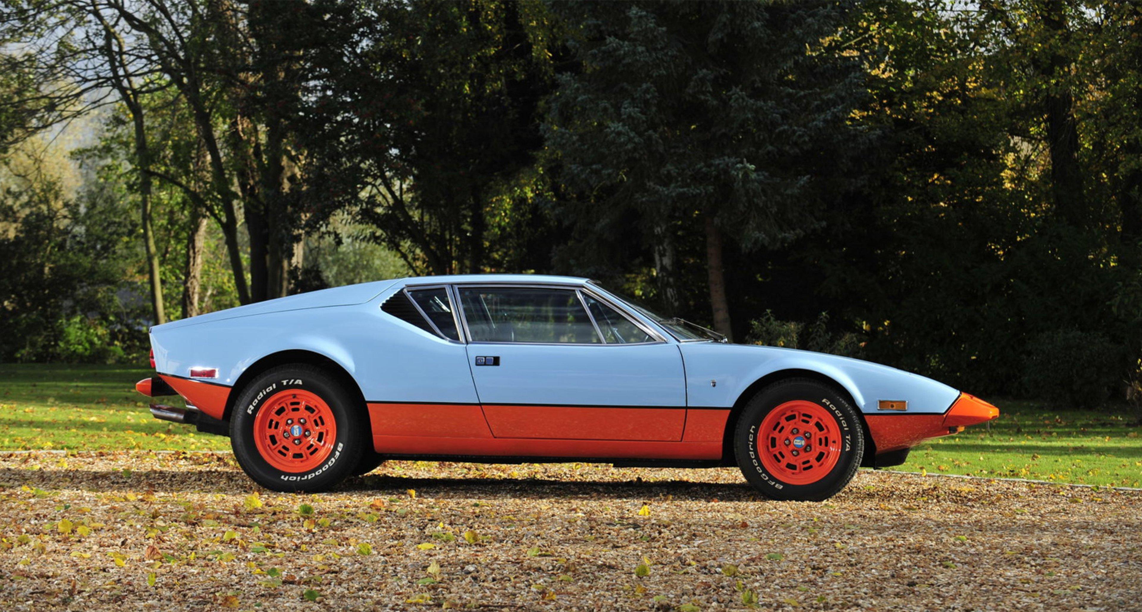 1974 De Tomaso Pantera Coupé Coachwork by Carrozzeria Ghia