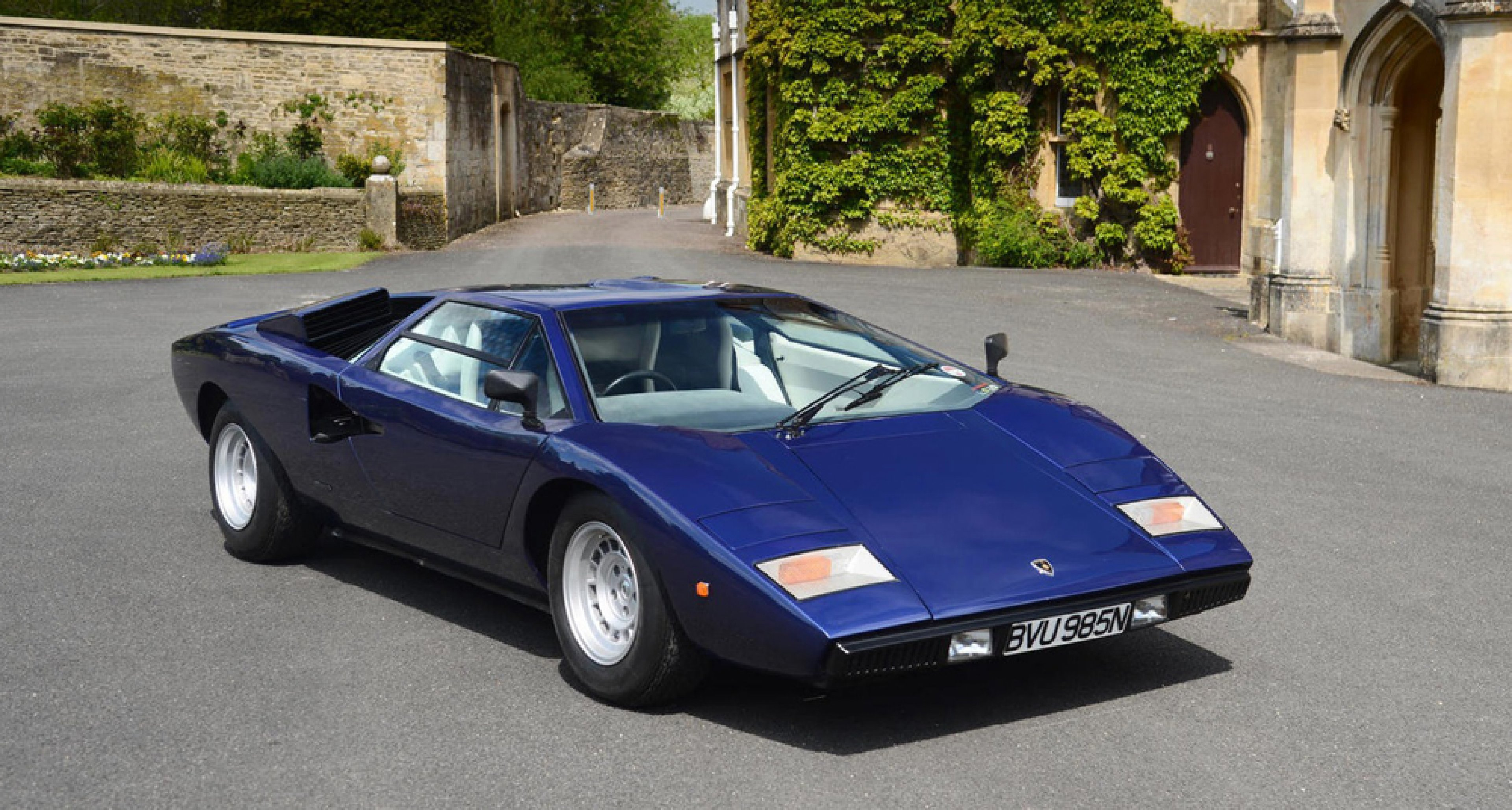 a 1975 lamborghini countach lp400 39 periscopica 39 to be sold at bonhams 39 2014 goodwood festival of. Black Bedroom Furniture Sets. Home Design Ideas