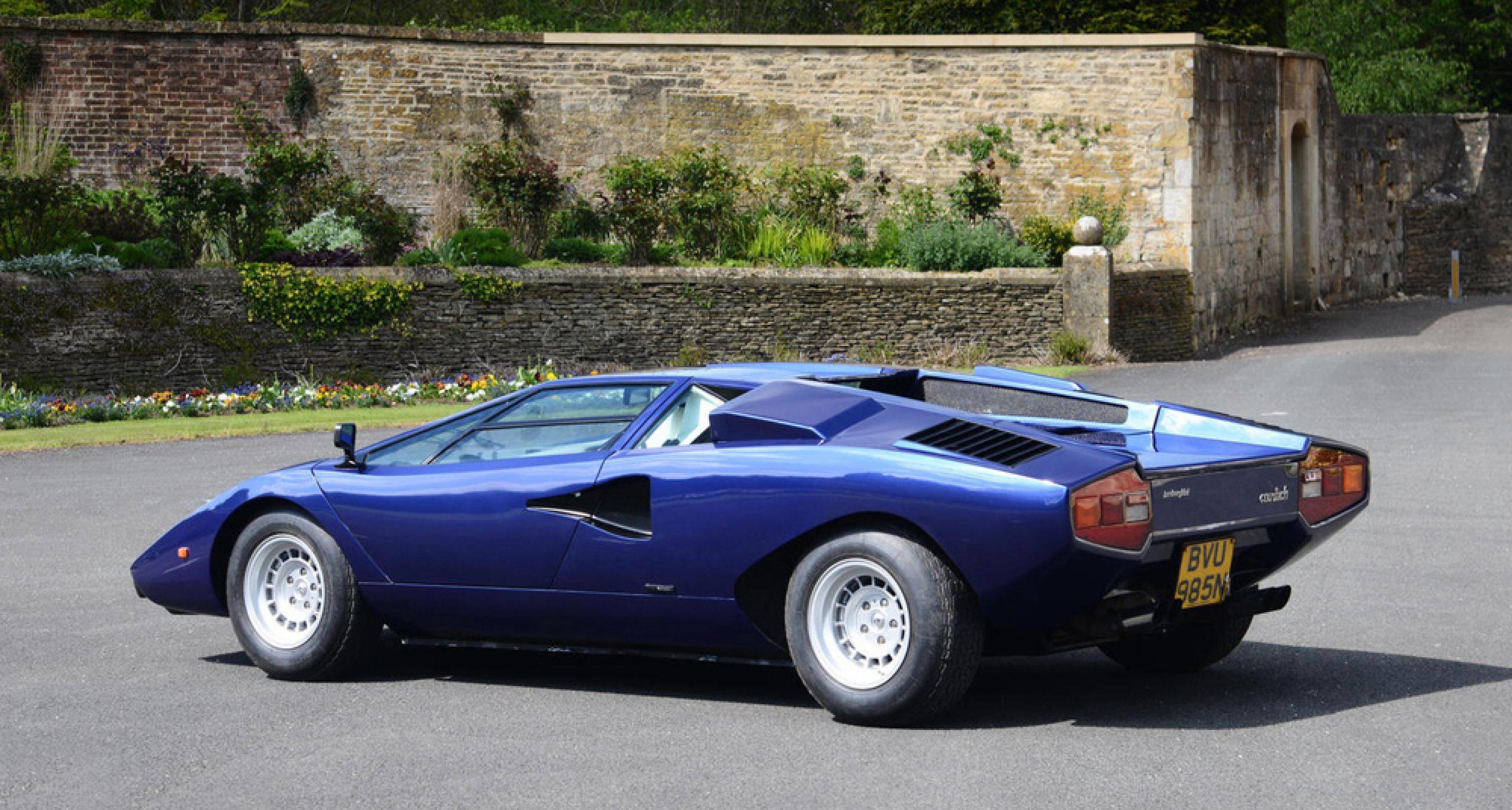 Lamborghini Countach Welcome To The Millionaire S Club Classic Driver Magazine