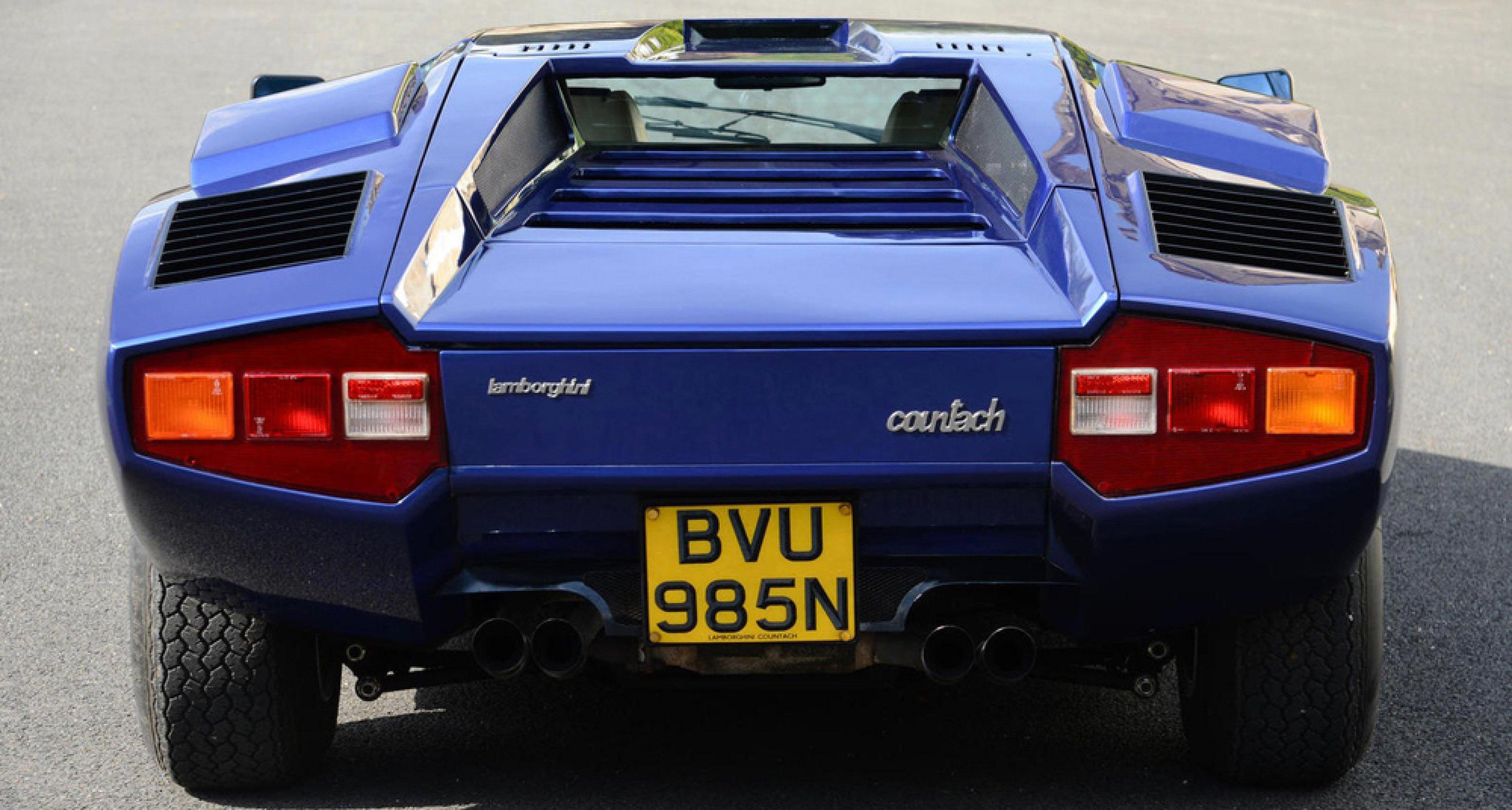 Lamborghini Countach Welcome To The Millionaire S Club Classic