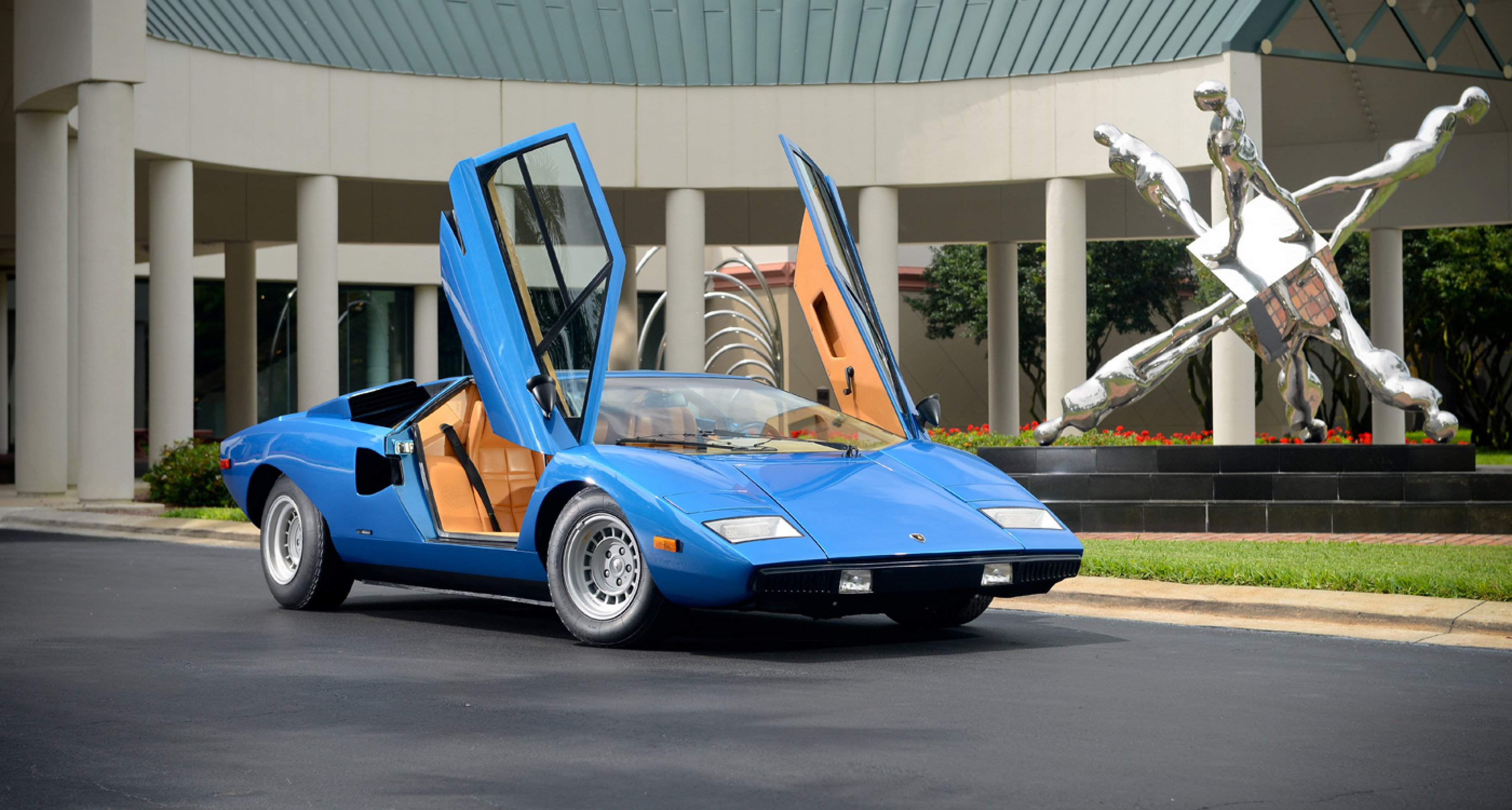 The 1975 Lamborghini Countach LP 400 'Periscopica' sold by Bonhams in June 2014 for $1.2m