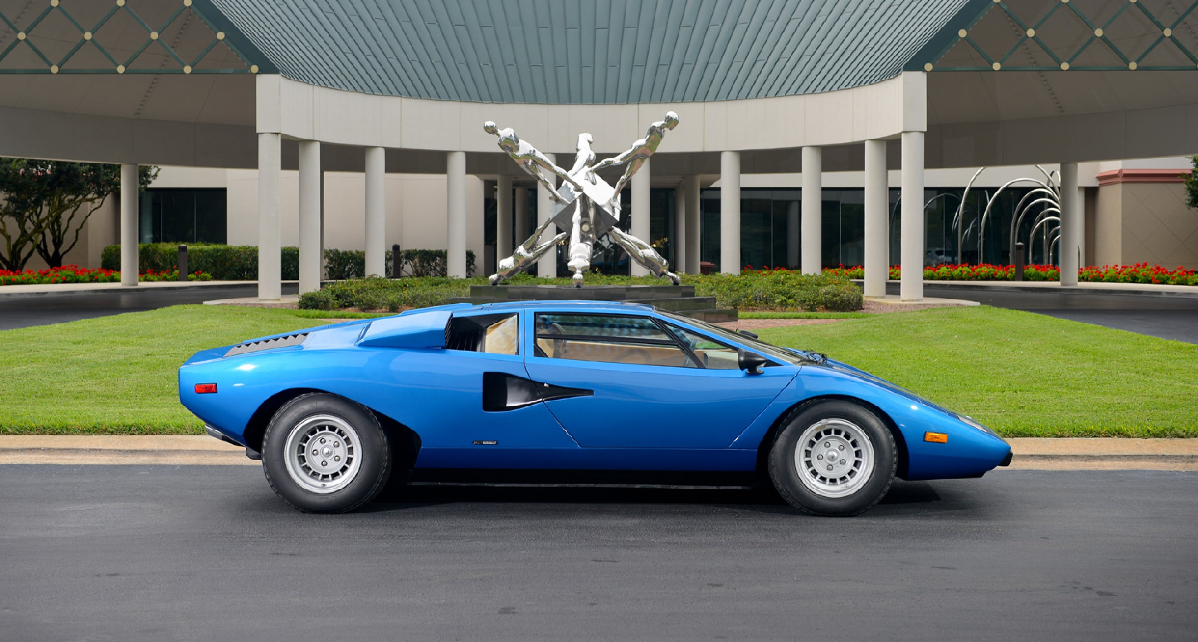 The 1975 Lamborghini Countach LP 400 'Periscopica' sold by Bonhams in June 2014 for $1.2m