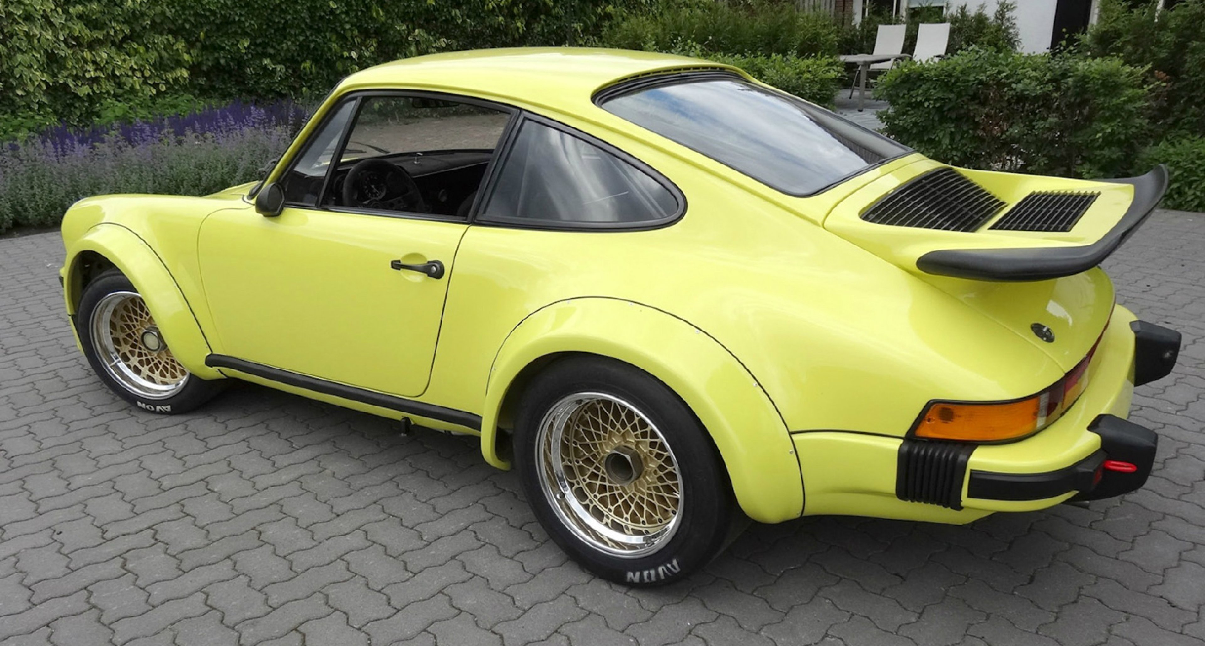 Coys auction at the Nurburgring 2014 - 1976 Porsche 934 RSR Turbo