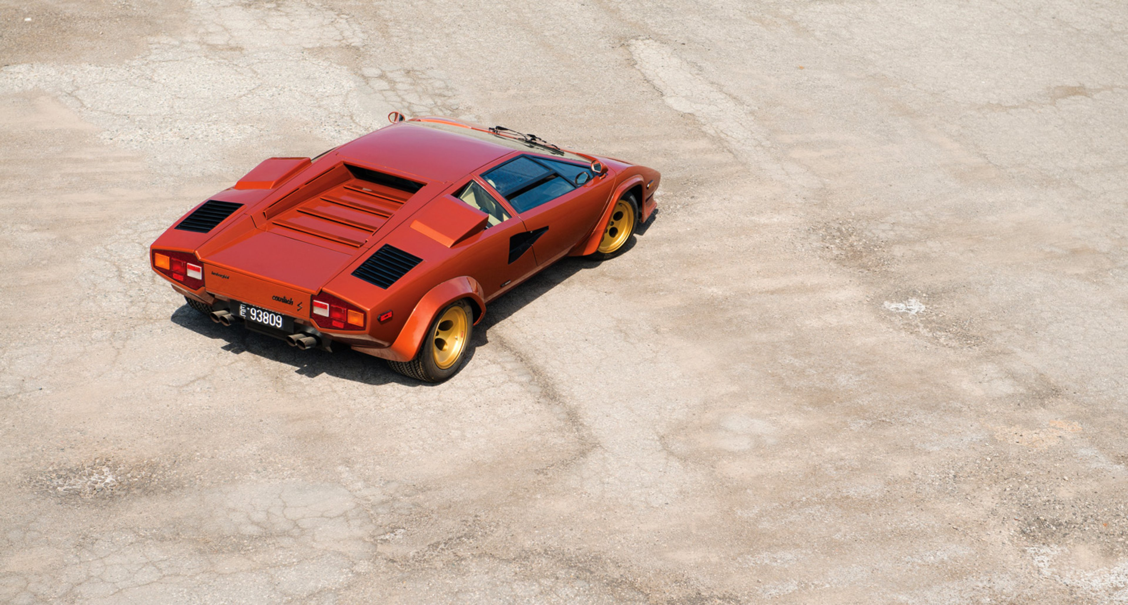 A 1979 Lamborghini Countach LP400S Series I to be sold at RM's Monterey auction in August