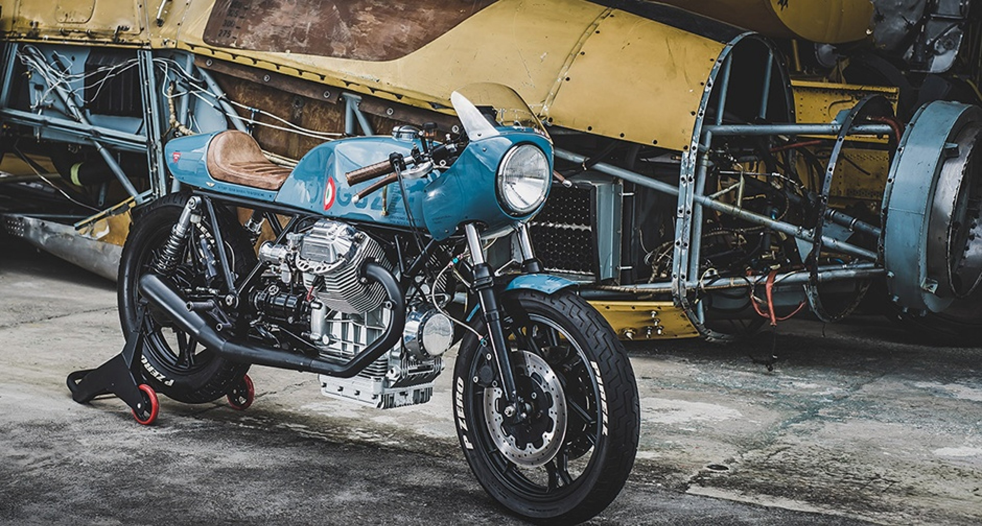 the sky s the limit with this custom moto guzzi classic driver magazine. Black Bedroom Furniture Sets. Home Design Ideas