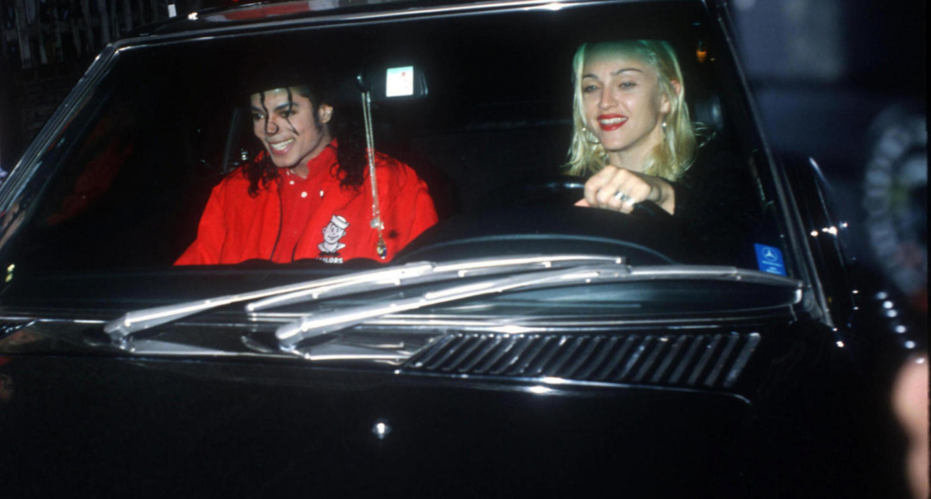 1987 Mercedes-Benz 560SL with Hardtop given to Madonna by Sean Penn