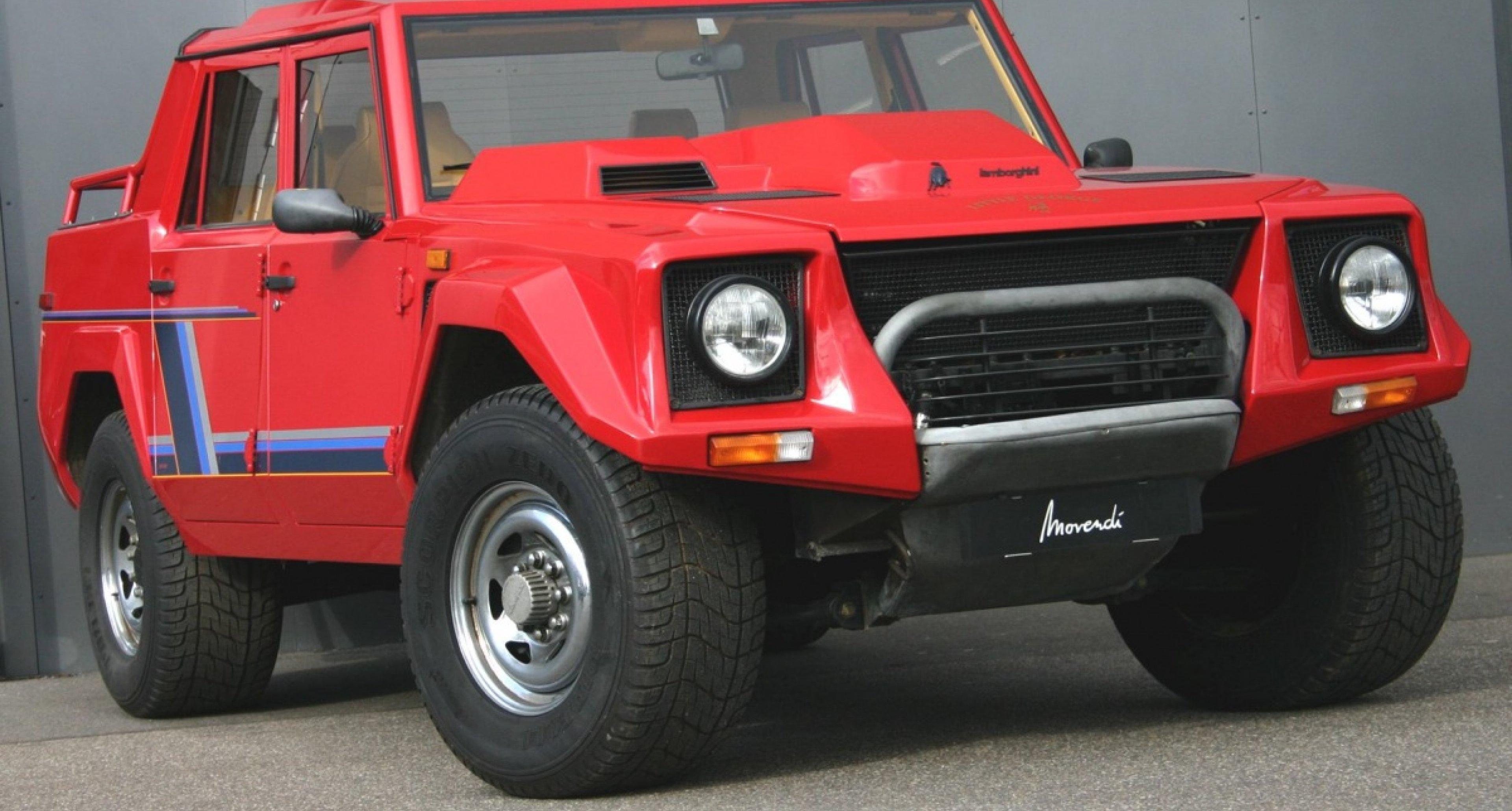 1988 Lamborghini LM 002