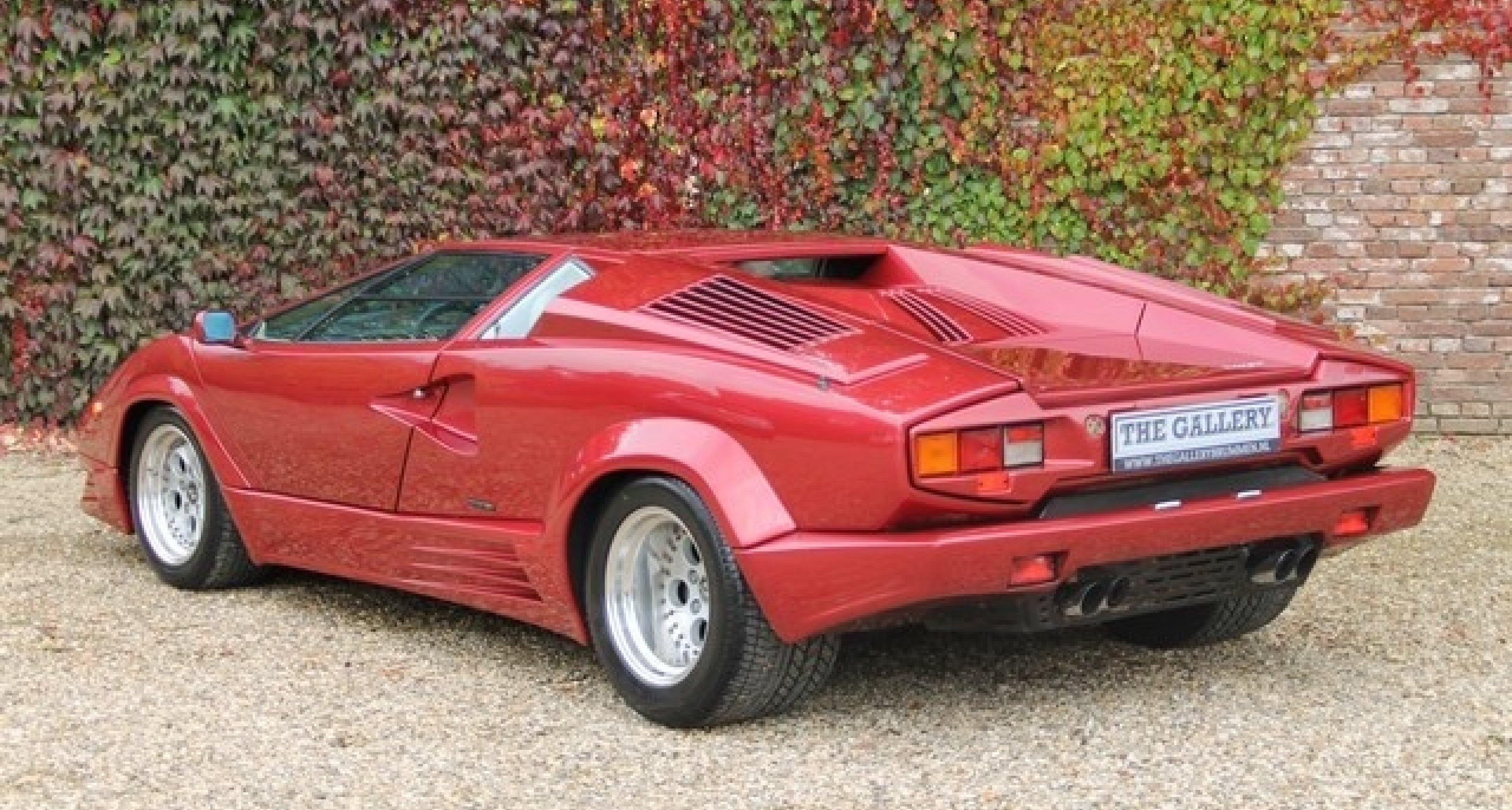 1989 Lamborghini Countach 25