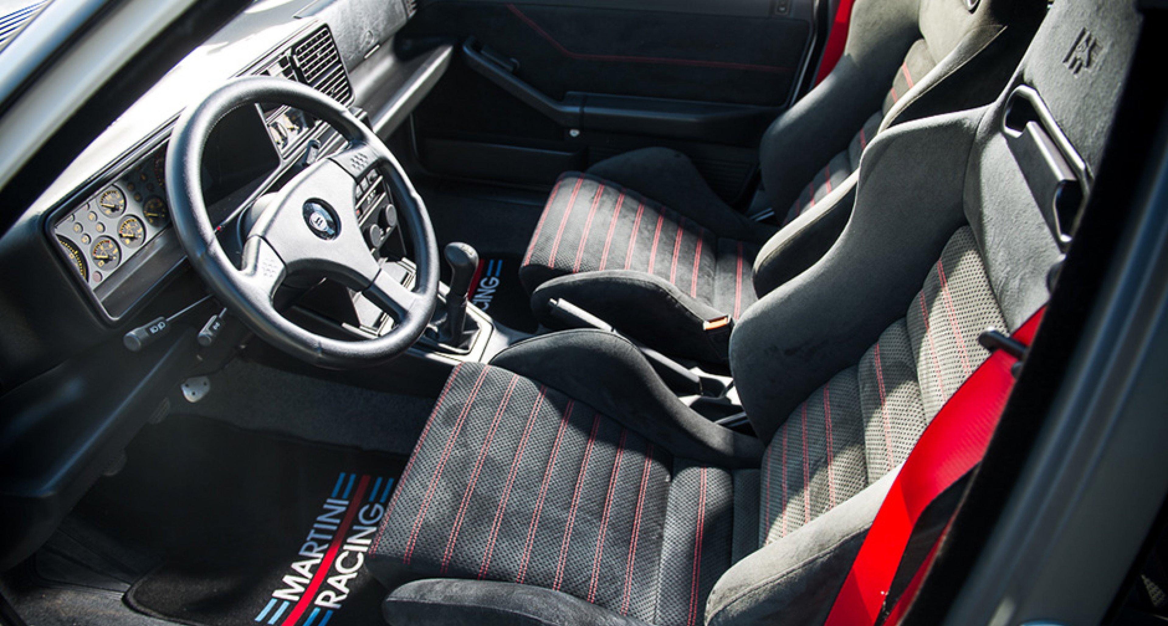 Dieser jungfräuliche Lancia Delta Integrale möchte eingefahren ...