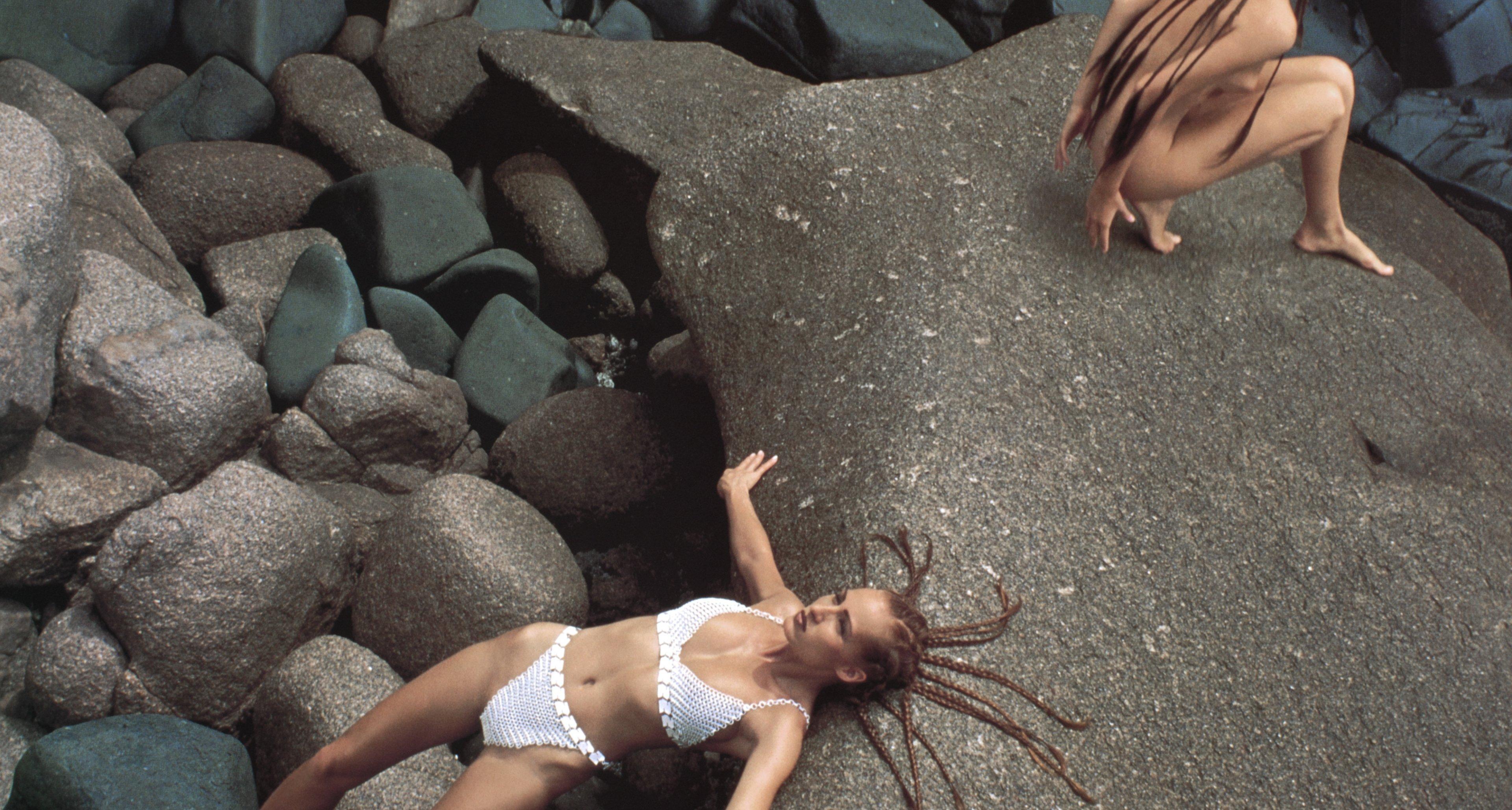 Pirelli Calendar 1993: Shot by John Claridge on the Seychelles