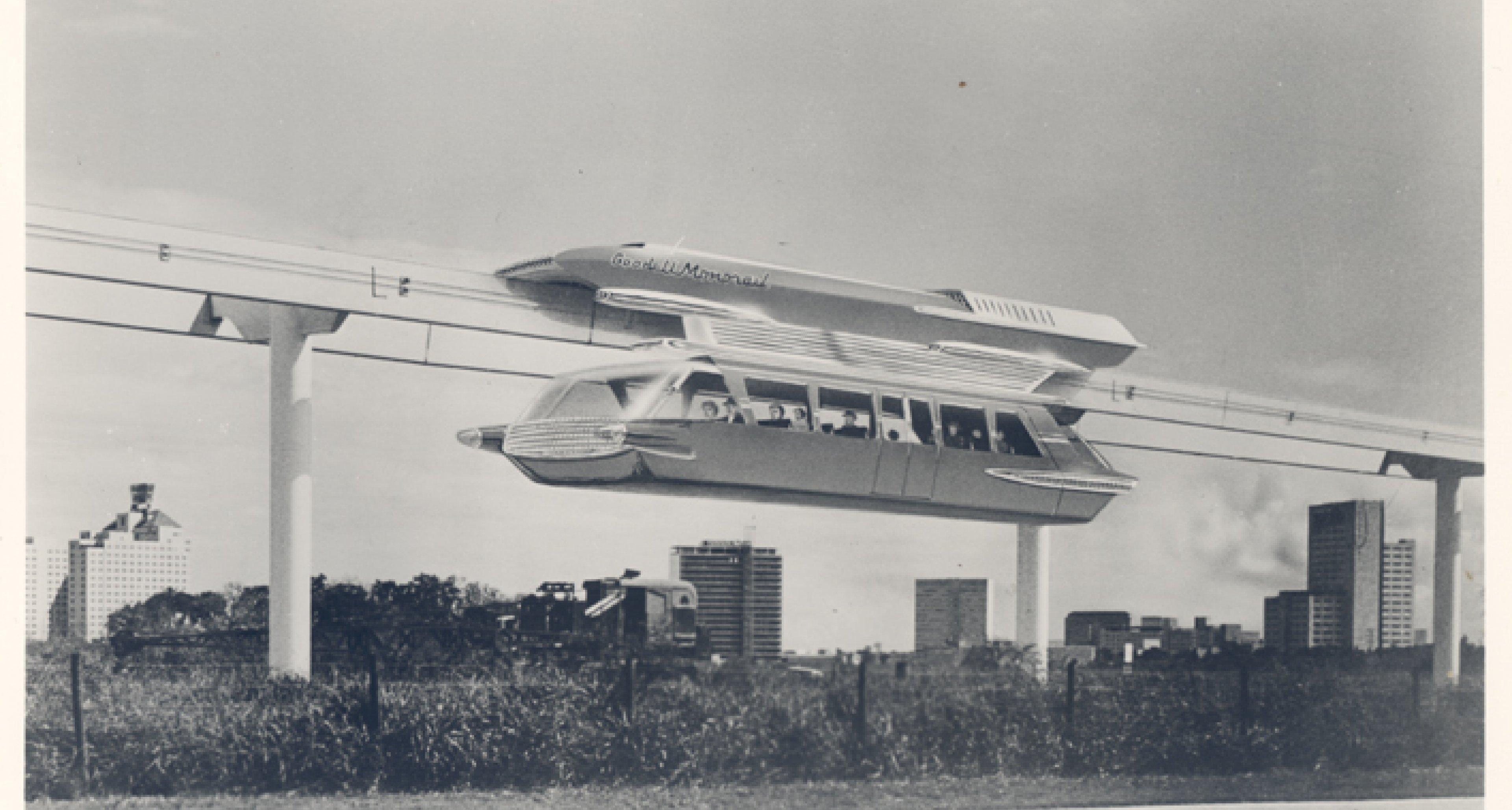 Goodell Monorail, 1963 (Los Angeles County Metropolitan)