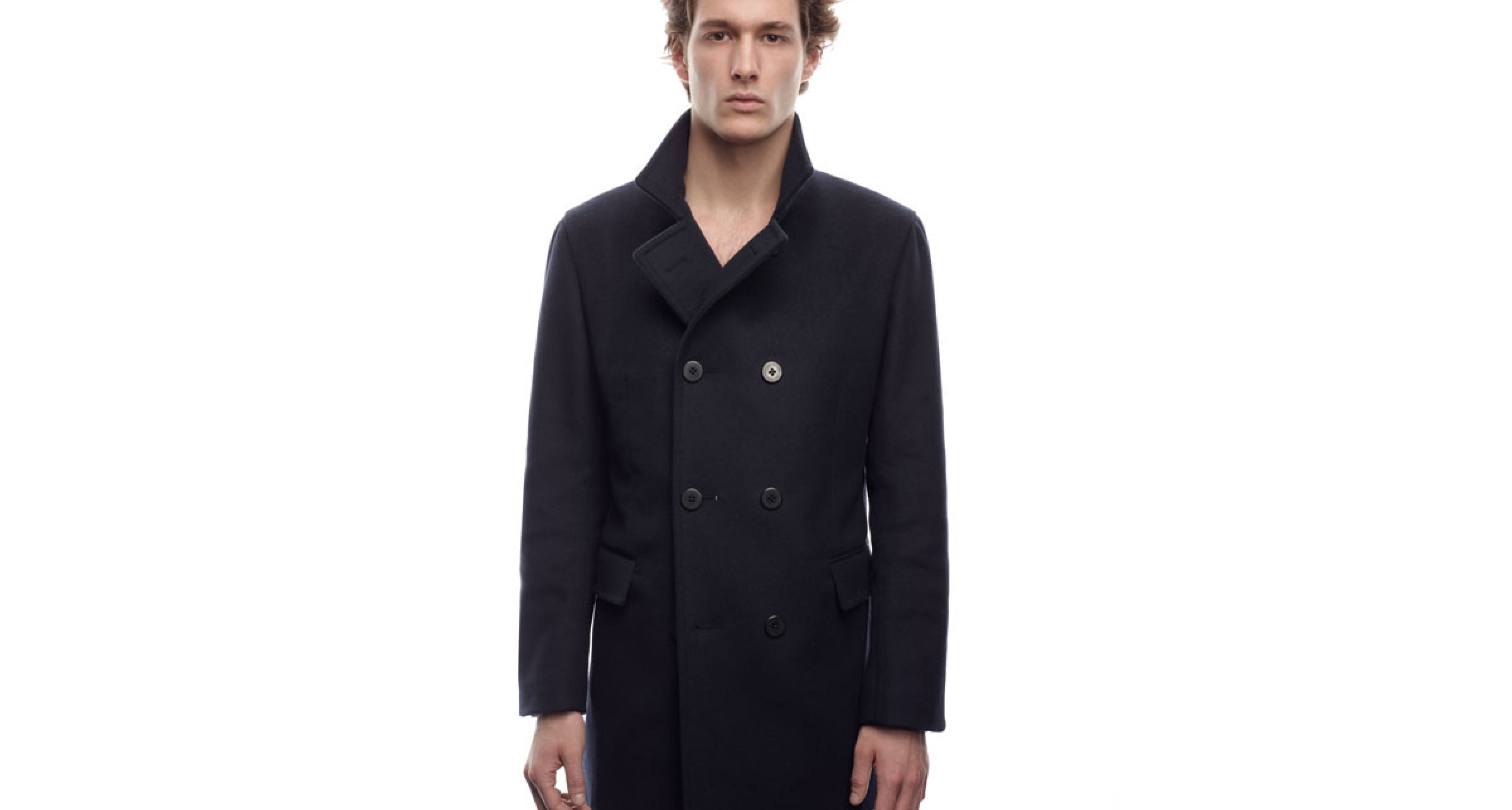 Éclectic menswear combines classic looks with high-tech materials