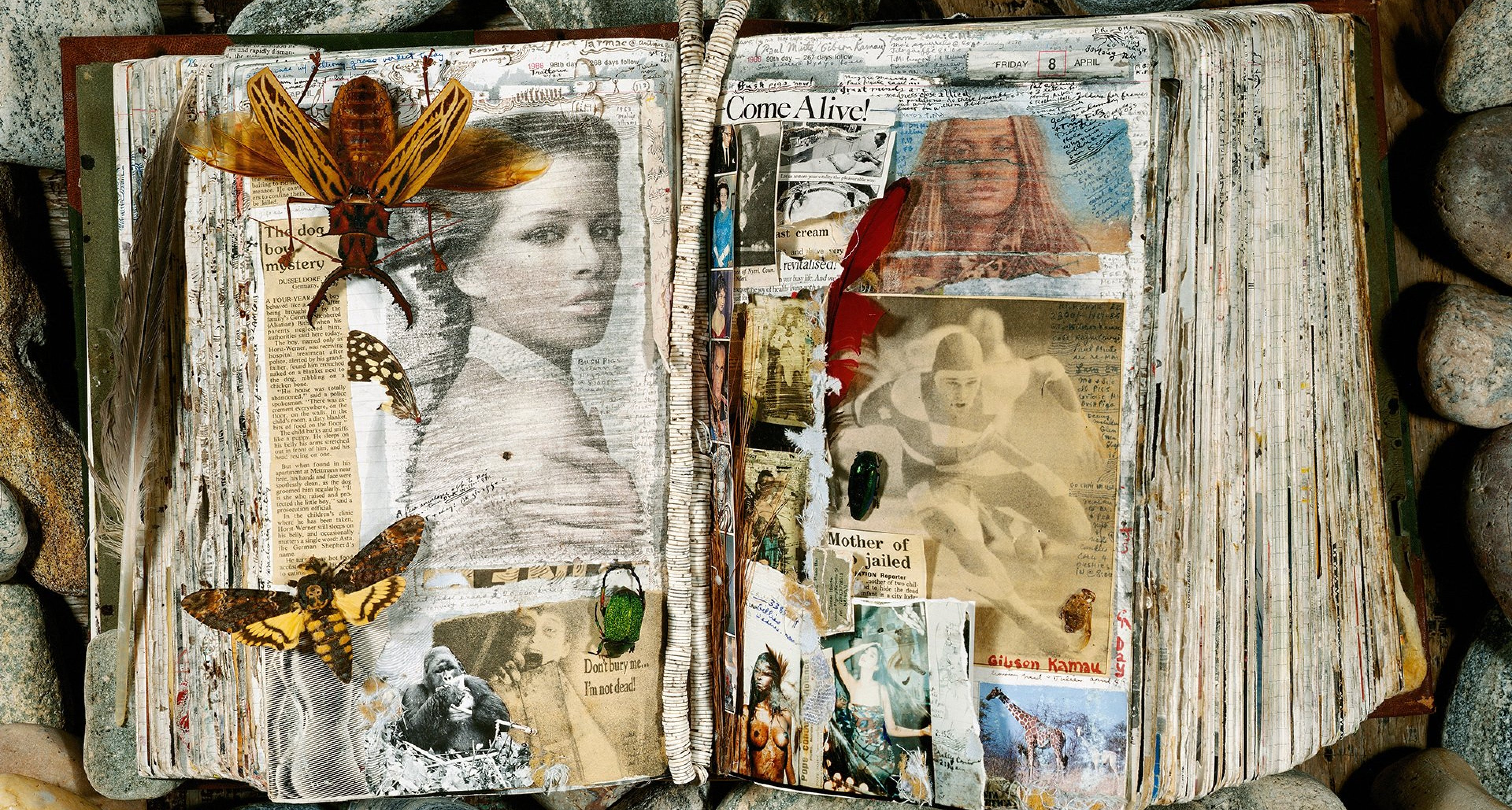 Astrid Heeren and Veruschka, April 7–8, 1988 © 2020 Peter Beard
