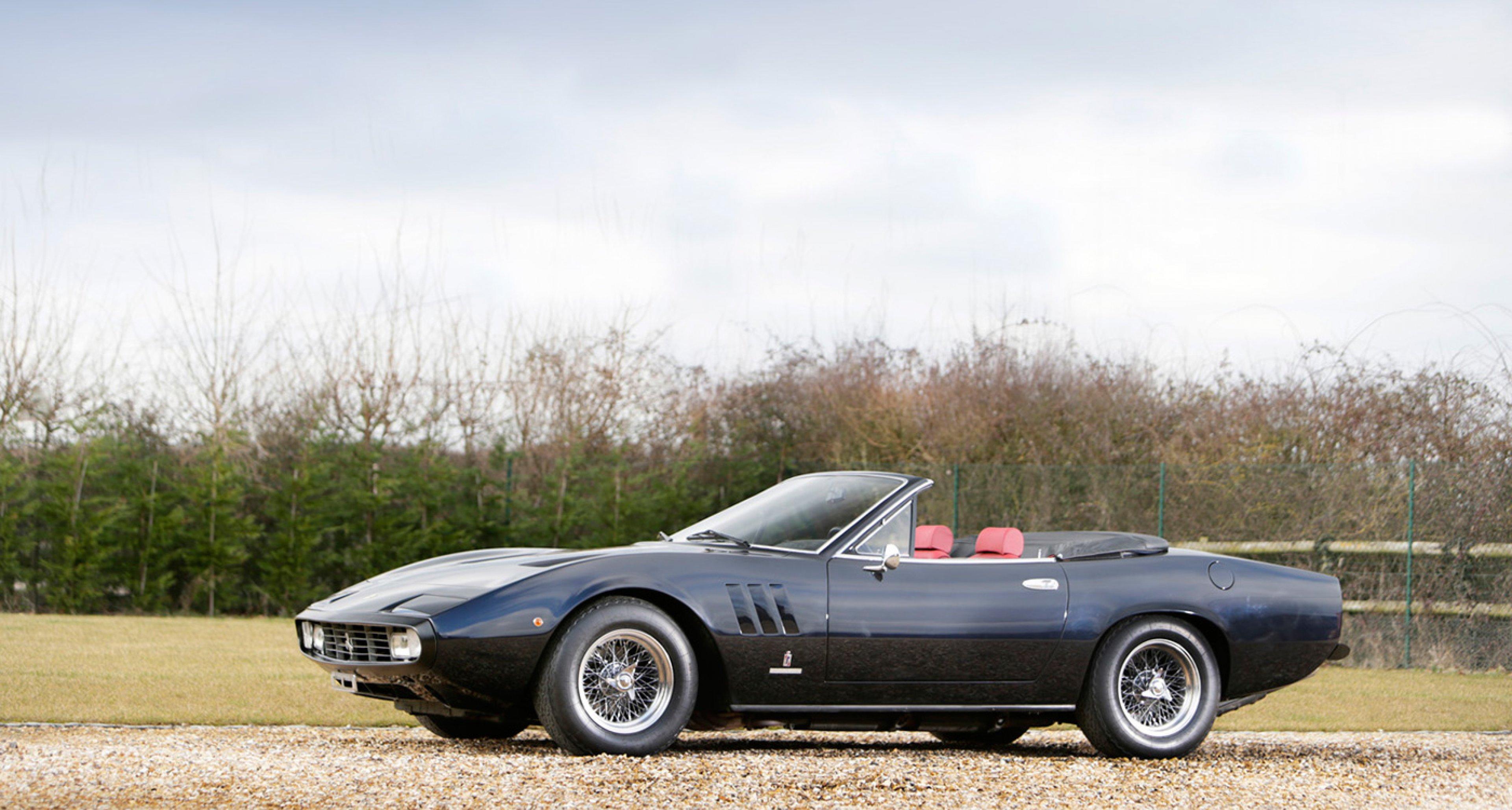Hätte Ferrari Doch Bloß Einen 365 Gtc 4 Spider Gebaut Classic Driver Magazine