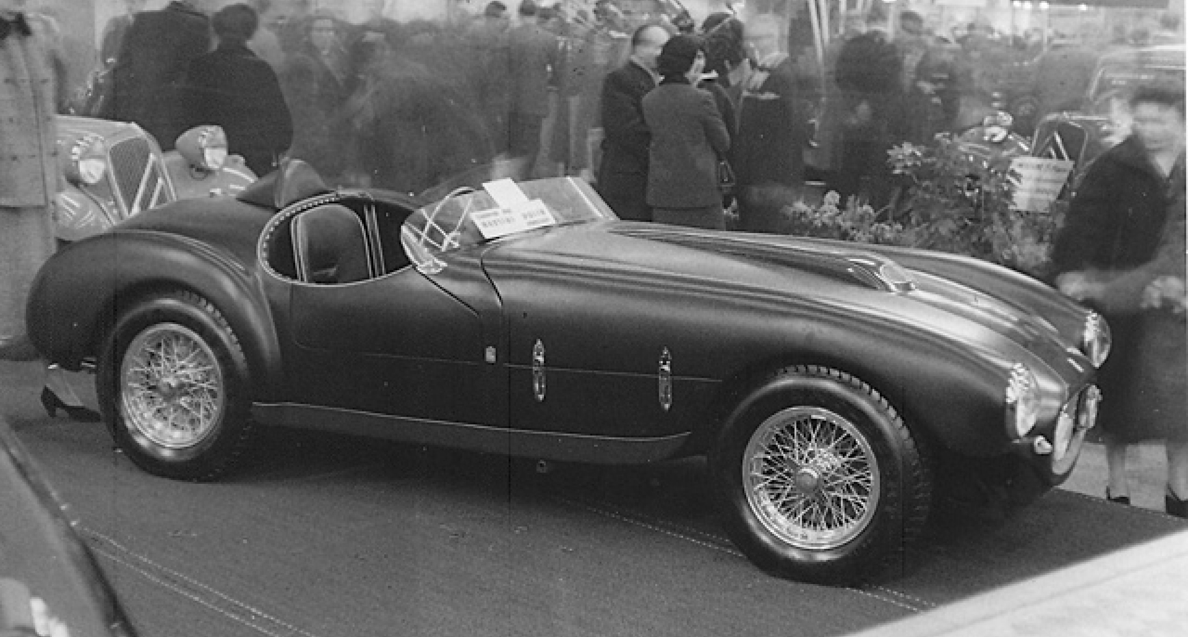 0300M at the 1955 Brussels Motor Show